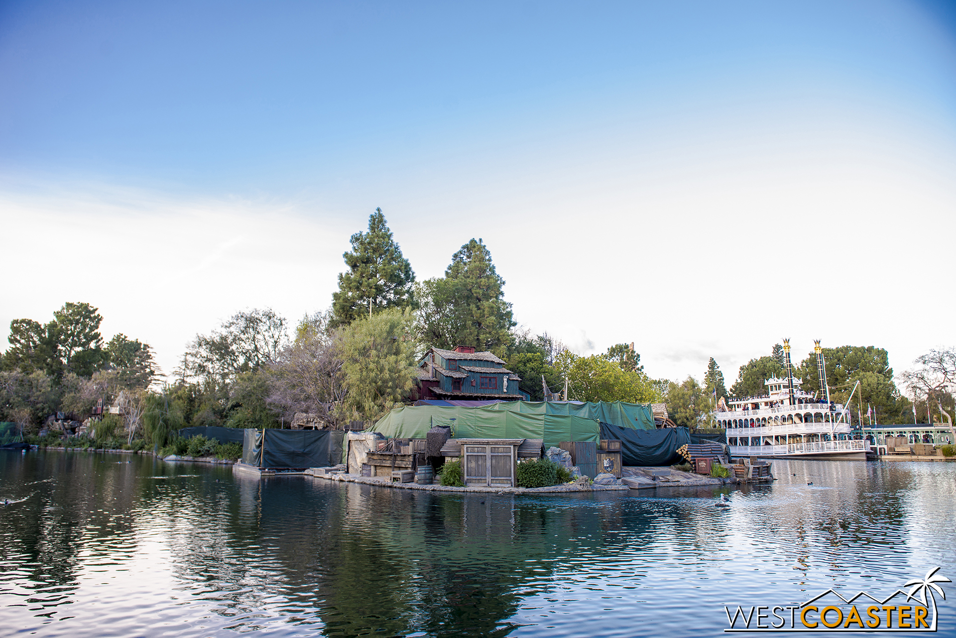 It's hurting the Rivers of America.  I'm saying it.  No one else is brave enough to say it—everyone's too afraid… they think they're gonna offend someone… but I'm not afraid of that.  I'm just gonna say it.  They're killing us.  Absolutely.  Us… the Rivers of America… they're killing us.