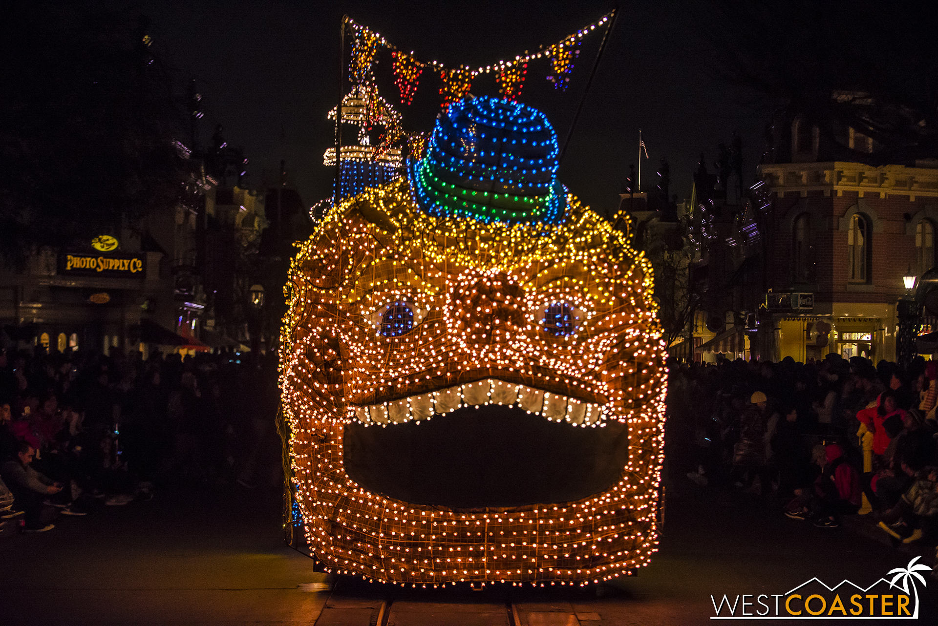 "And then comes ""The Creepy Float."""