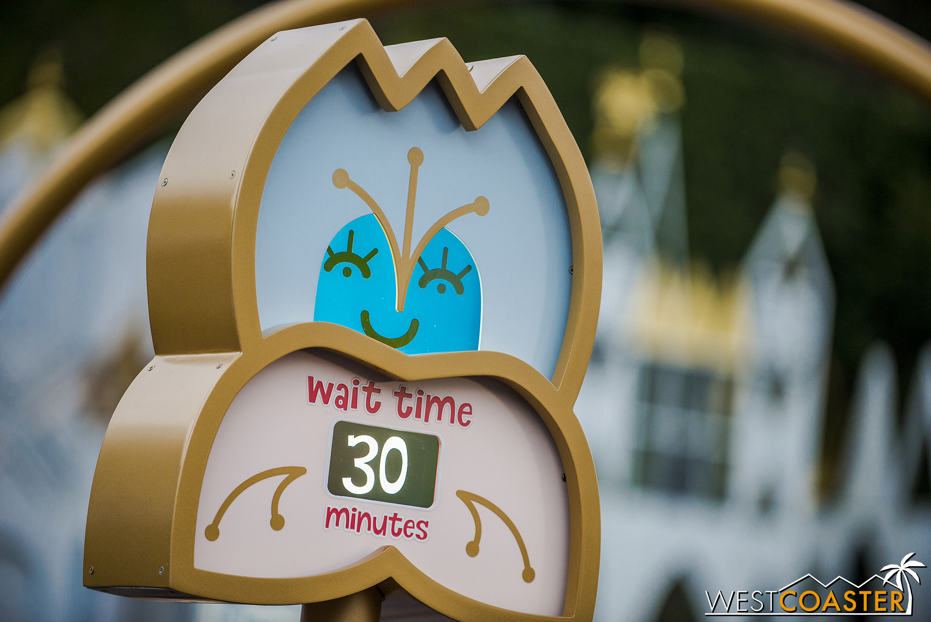 But It's A Small World has a digital wait time display now.