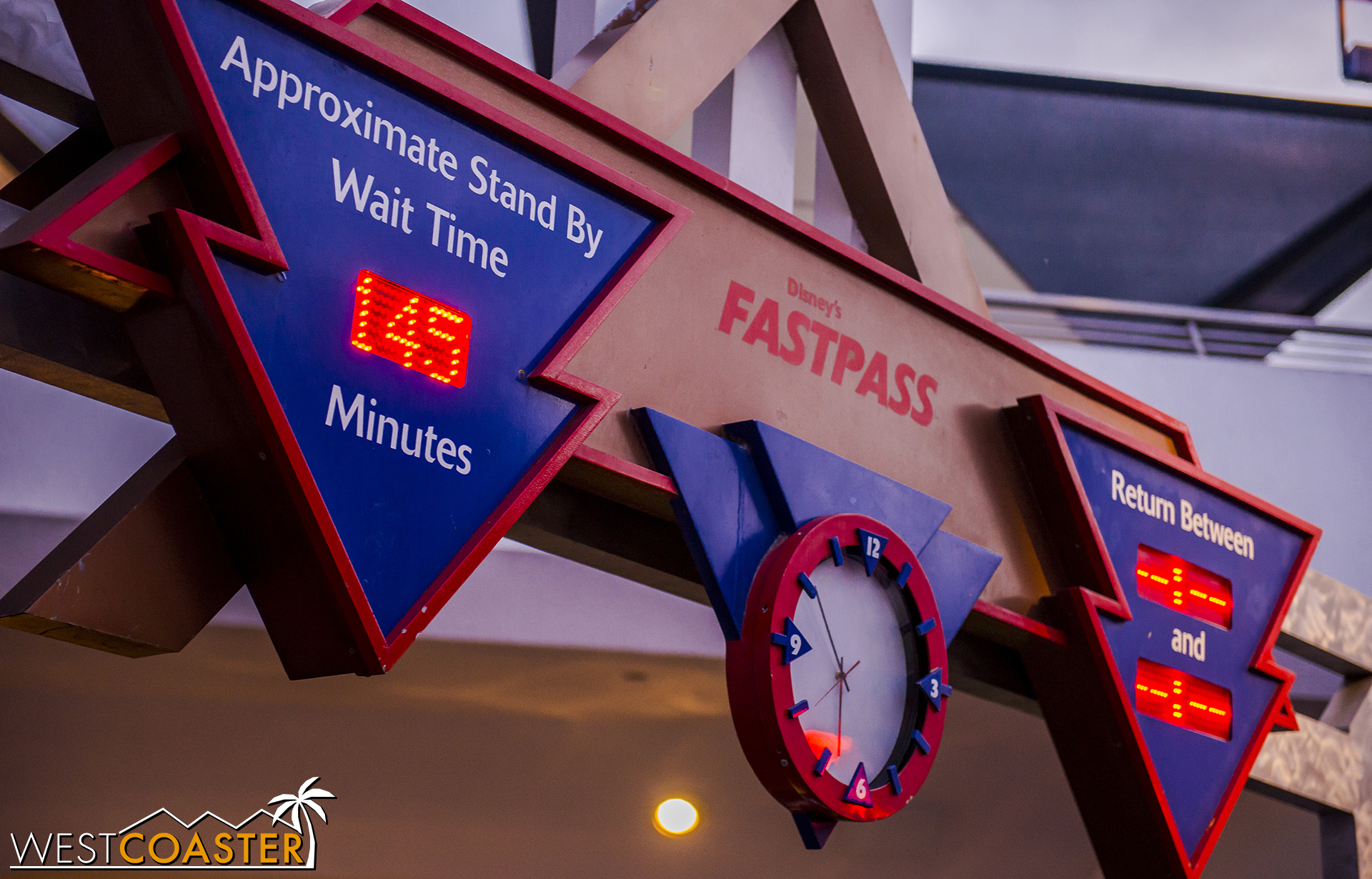 Disneyland starts getting Tokyo-level wait times. Nearly two and a half hours for Hyperspace Mountain?? No thanks. And wait times were near an hour for numerous other rides yesterday too.