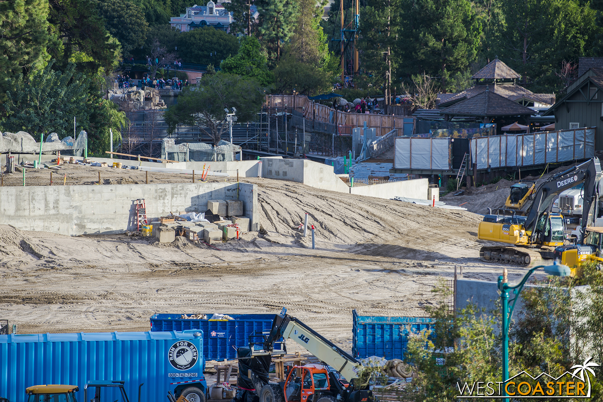 Speaking of walls, remember that wall that was going to Keep Rivers of America Great again? Lets check that out.