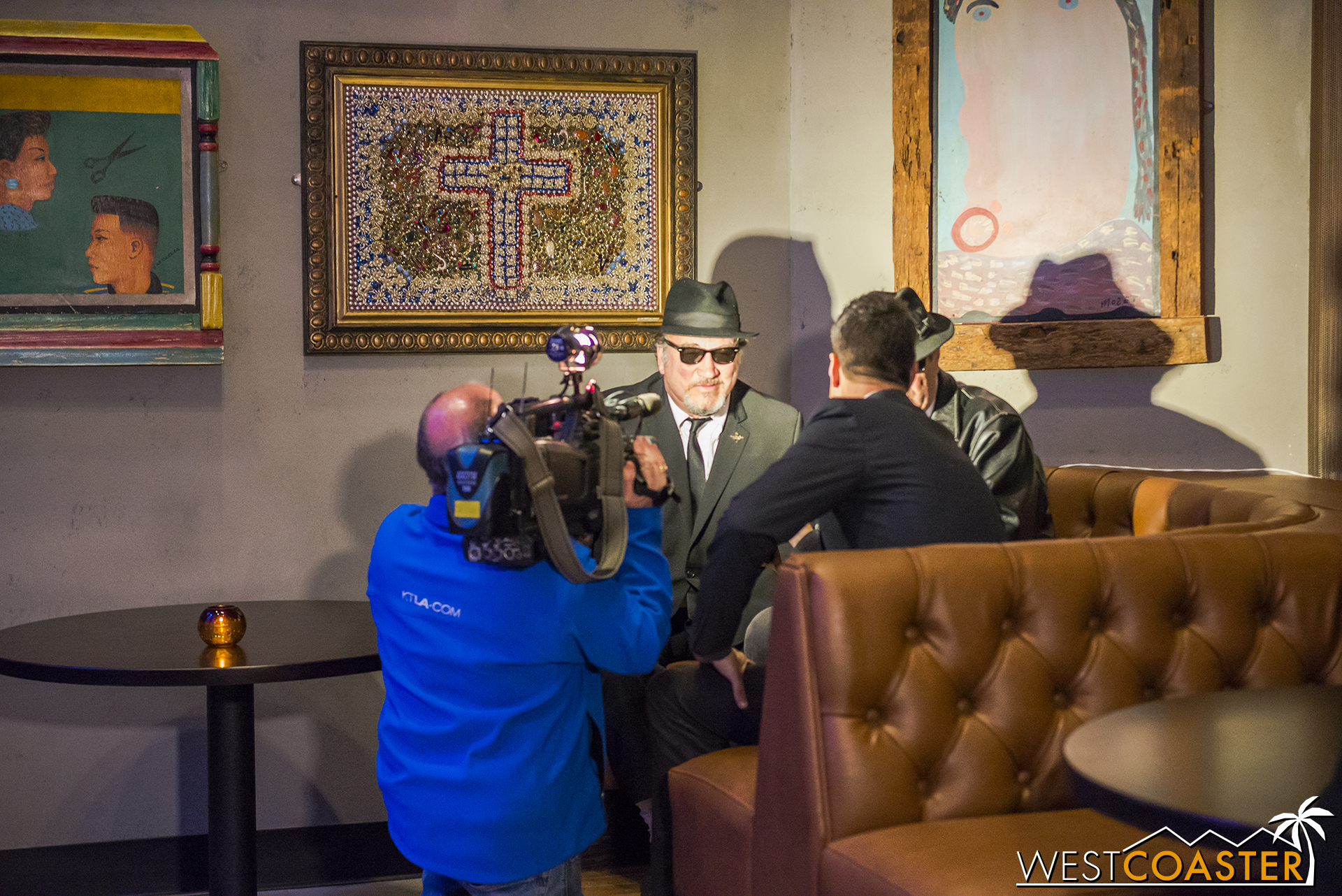 The Blues Brothers in interview.