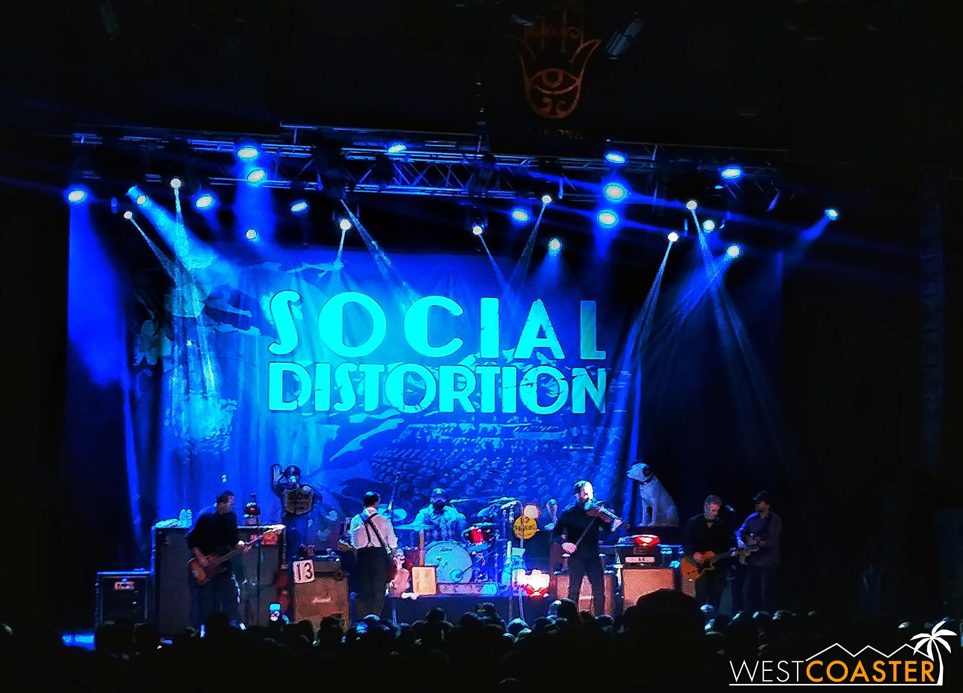 Social Distortion.