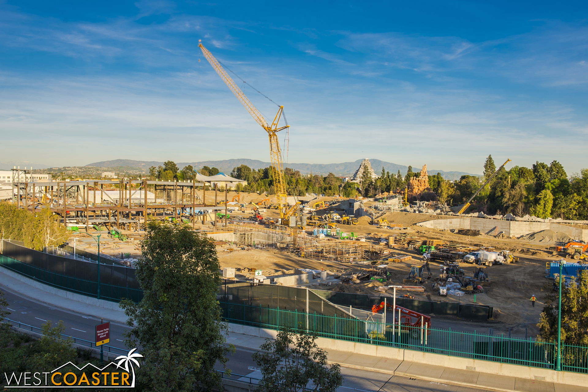 Lets look at the main E-Ticket first, which is shaping up to be quite a large sprawl of construction!