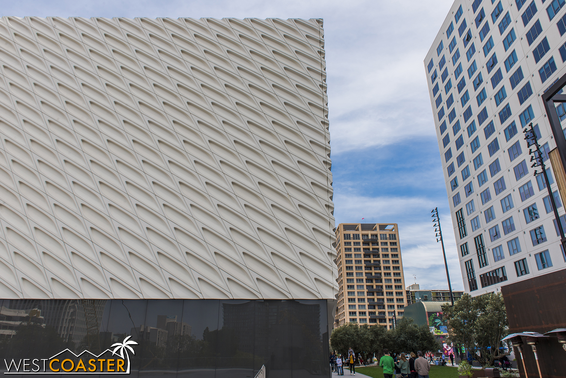 Backside of The Broad.