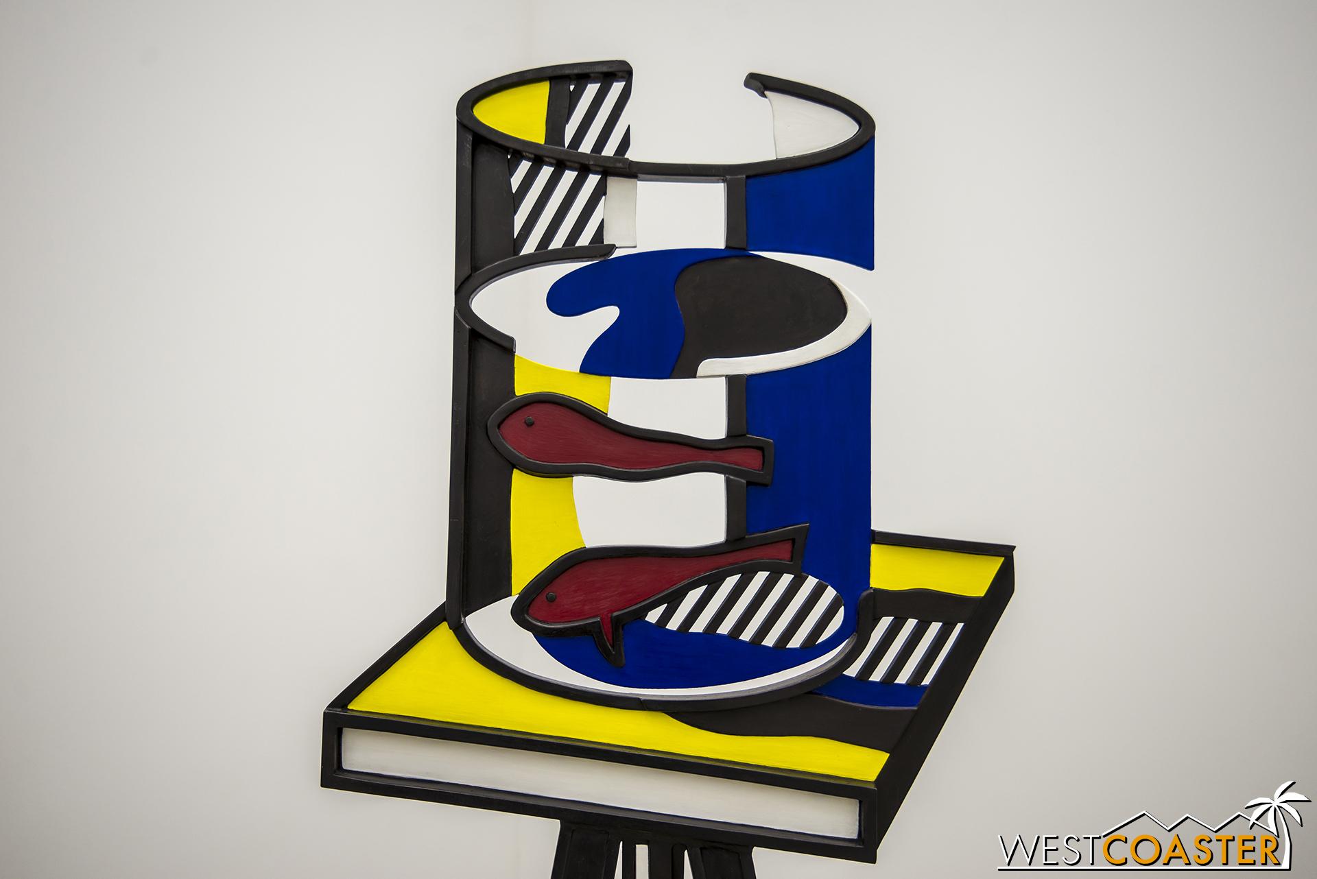 Roy Lichtenstein's  Goldfish Bowl
