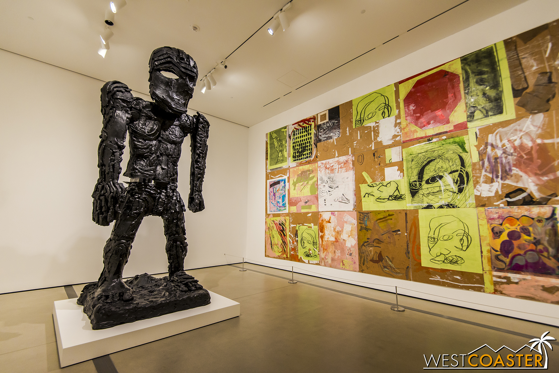 Thomas Houseago's  Giant Figure (Cyclops)  is one of the pieces on display in the current collection installation.