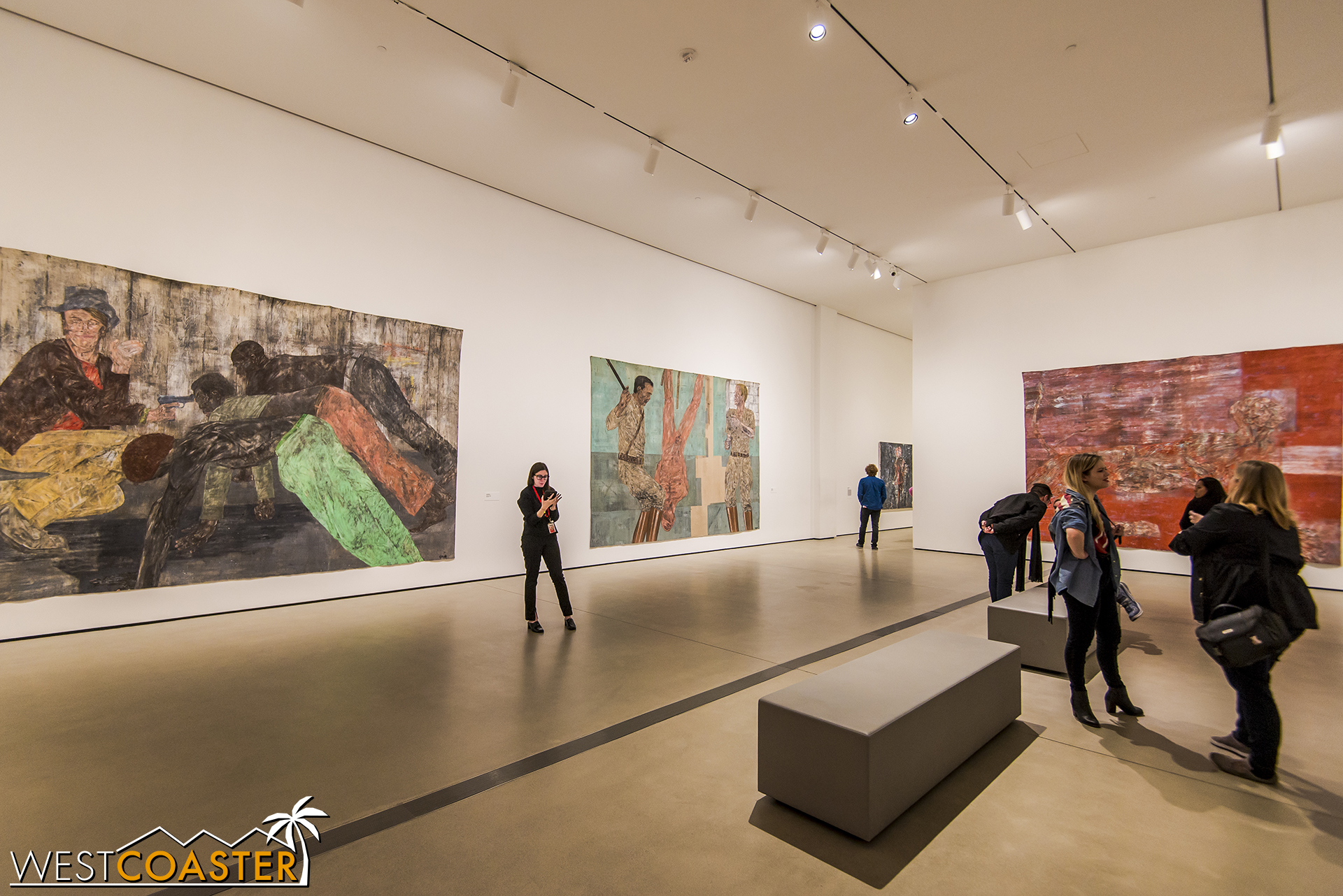 There is plenty of room for large art pieces at The Broad!