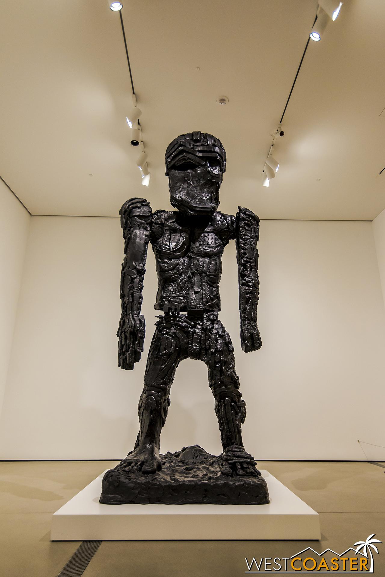 Thomas Houseago's  Giant Figure (Cyclops) .