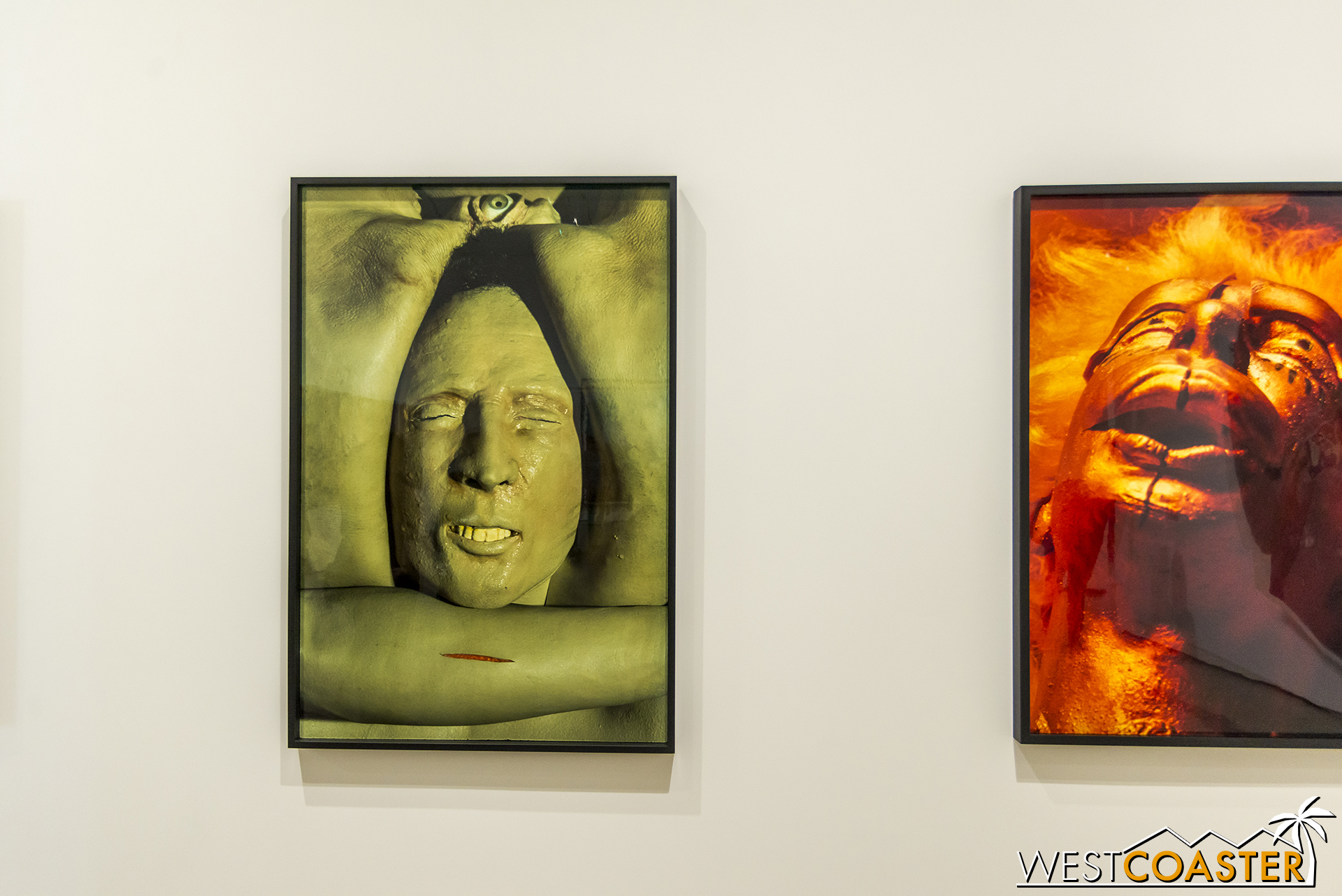 Cindy Sherman's  Untitled #315  and  Untitled #324 .