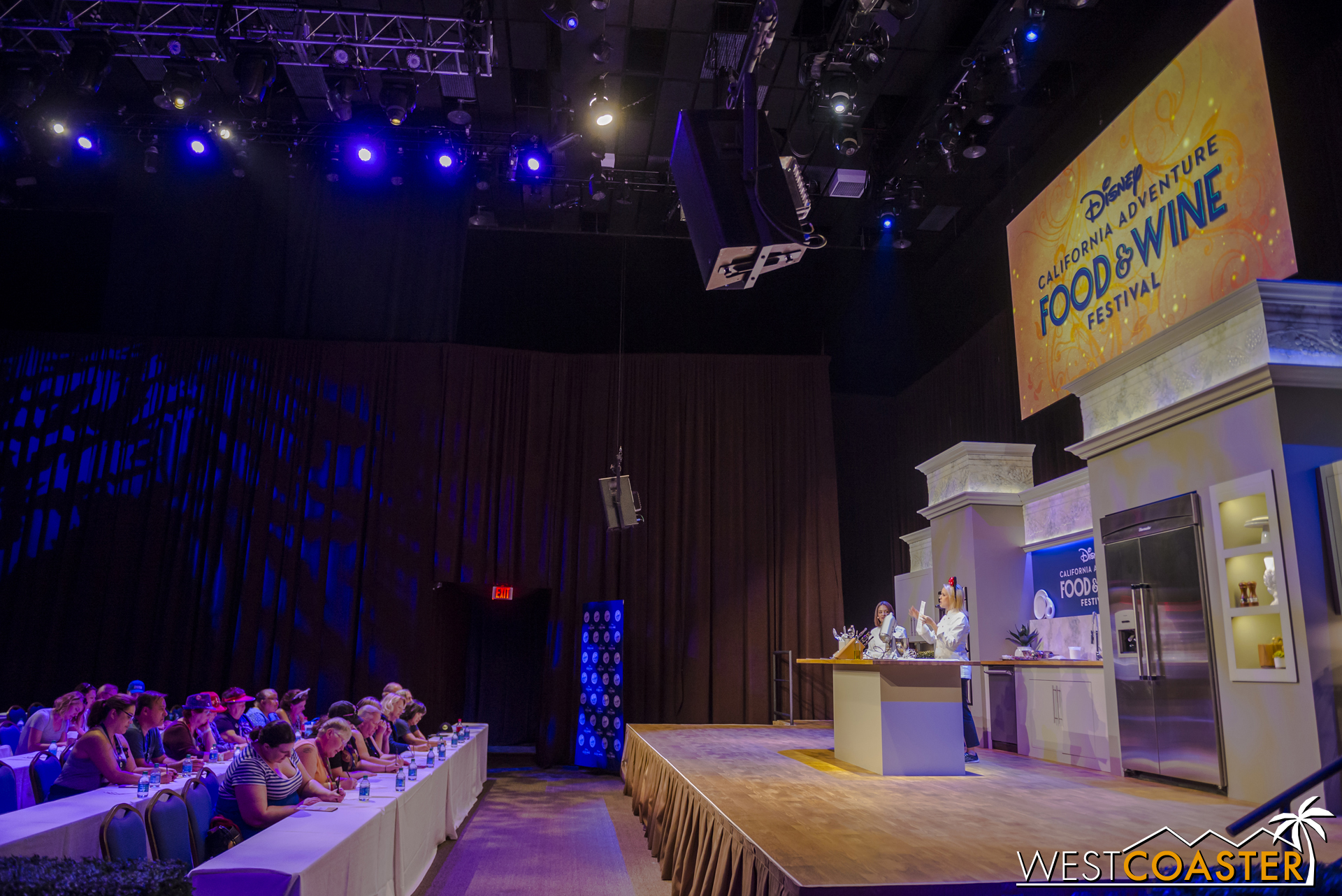 Culinary demonstrations were also taking place inside Stage 17 at the Festival Showplace.
