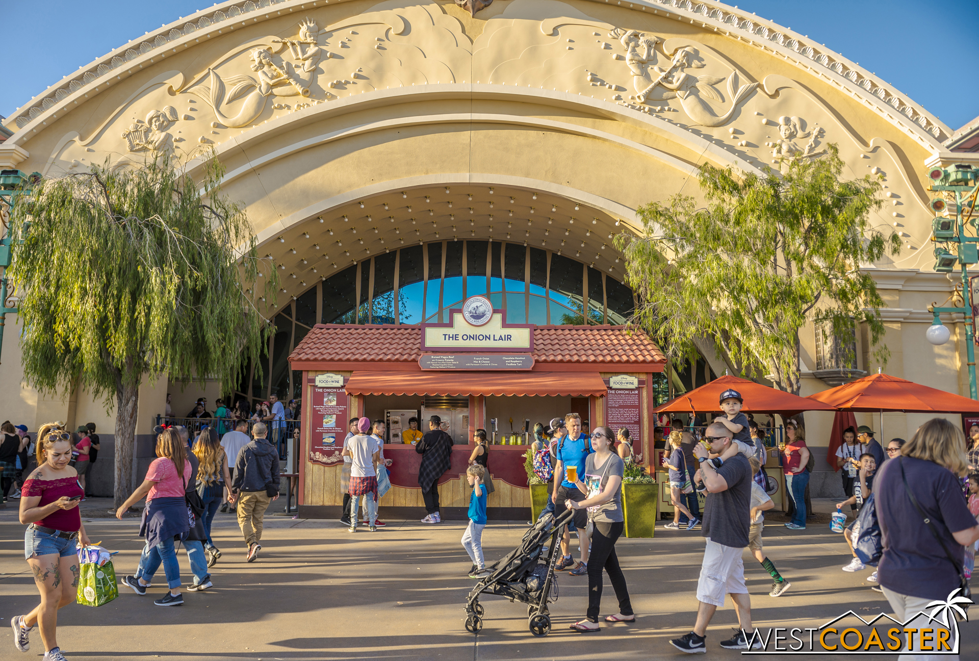 It certainly changes the complexion of this part of California Adventure!