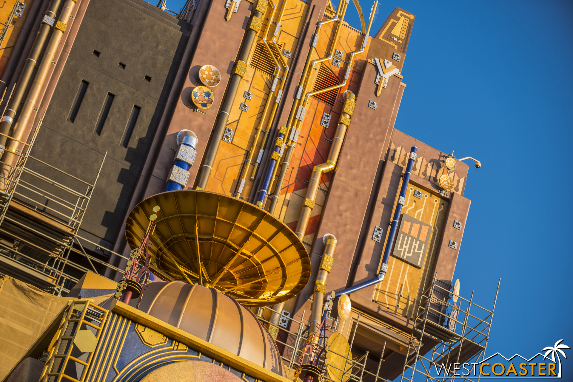 If this was Tomorrowland. Or maybe Tokyo Disney Sea's Port Discovery.