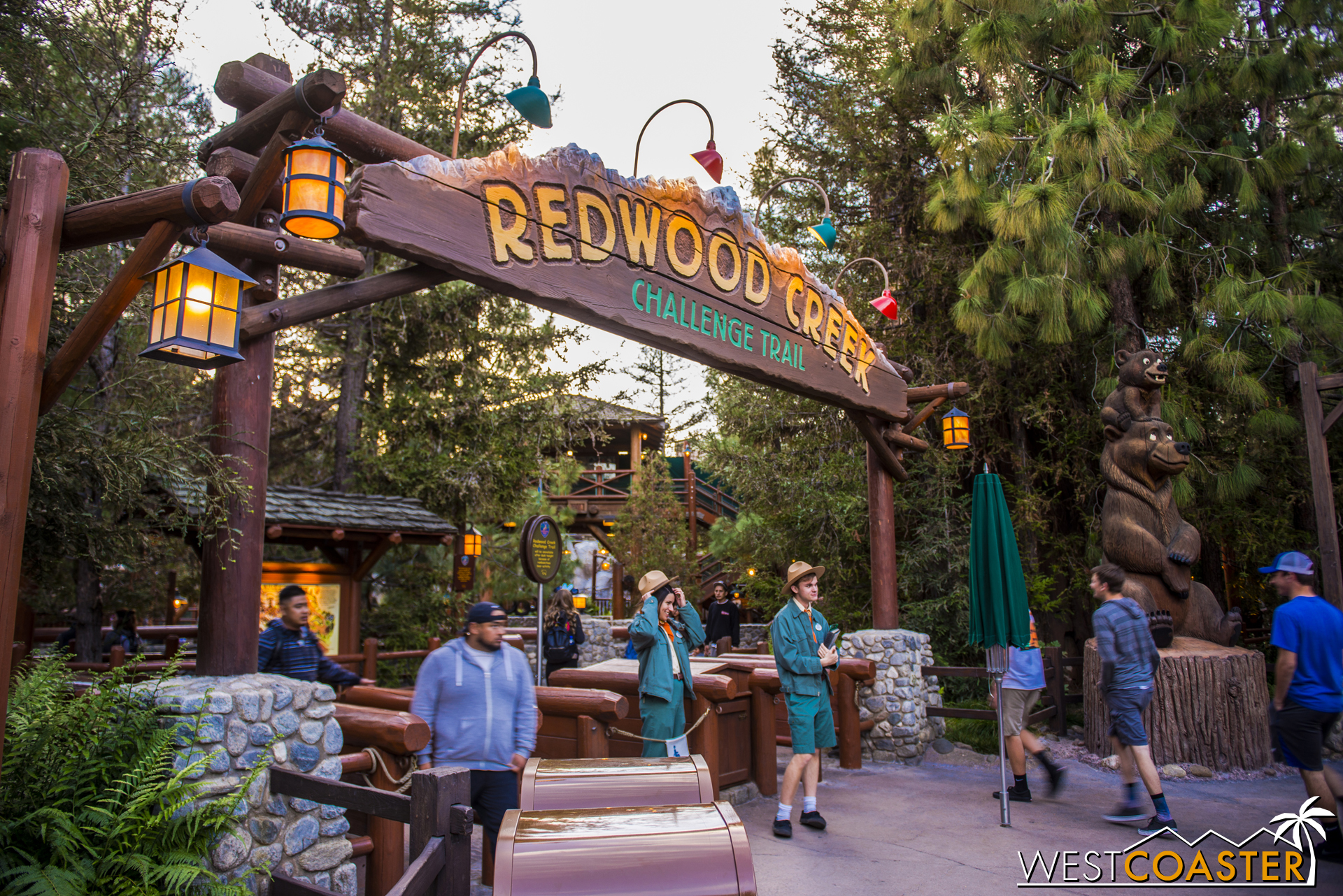 The Redwood Creek Challenge Trail has reopened over in Disney California Adventure.