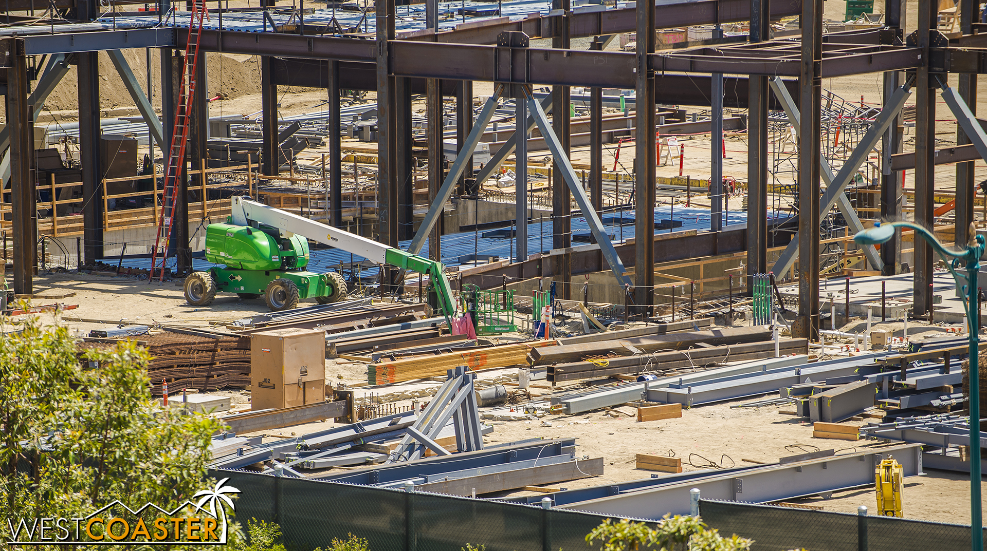 This building shows no signs of slowing down.