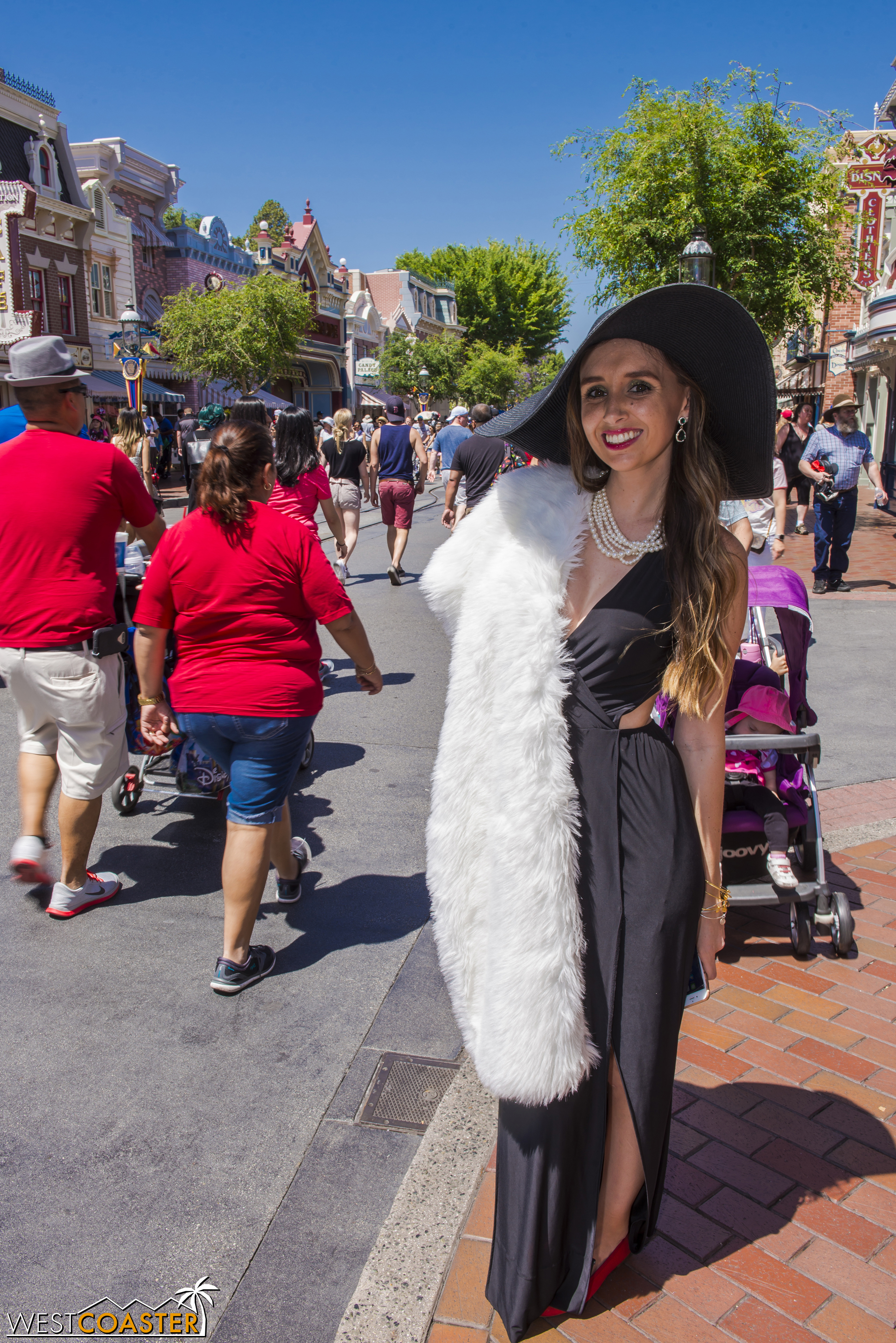 This stunning Cruella De Vil could stop much more than just puppies in their tracks.