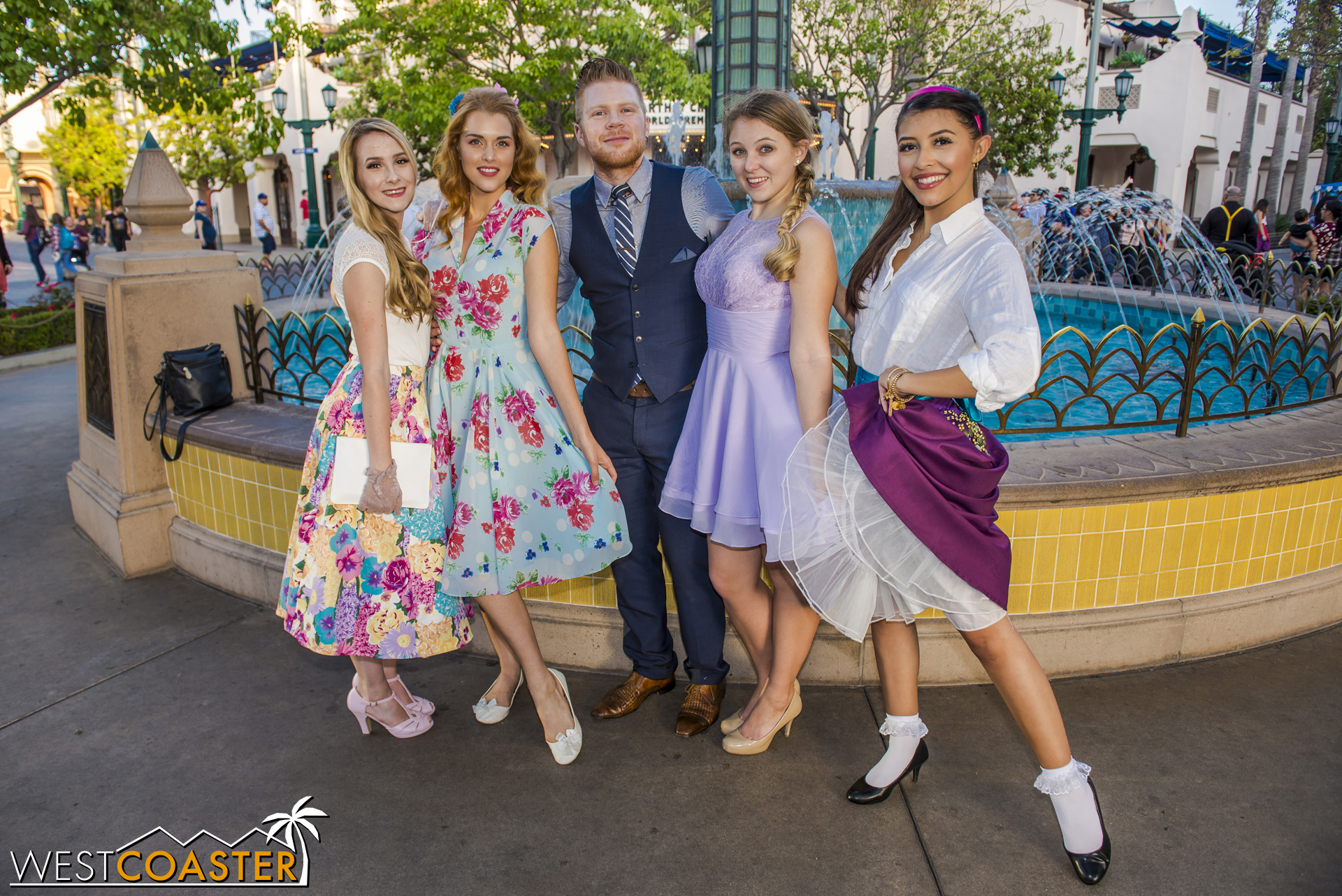 Esmeralda, Rapunzel, and friends (perhaps including  Enchanted 's Giselle?).