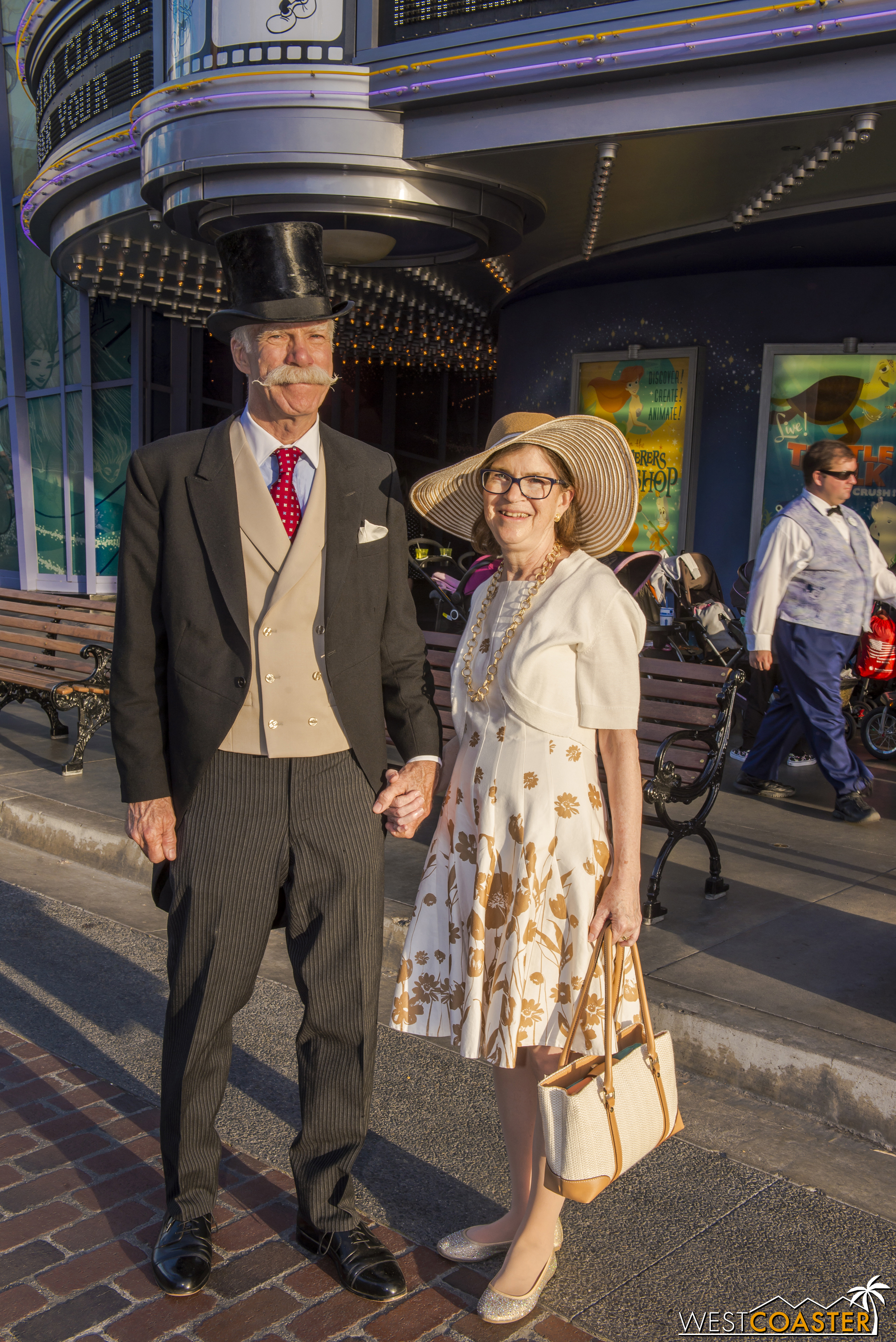 It's fantastic to see that Dapper Day transcends any artificial age limits and is enjoyed by guests young and young at heart.