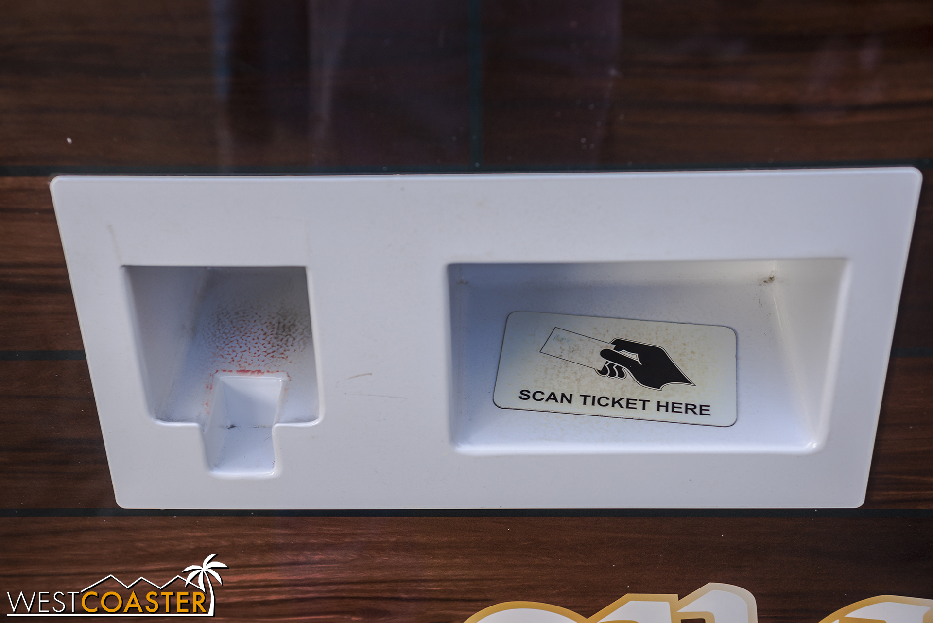 What's nice is that they only require a bar code scan instead of a ticket insertion--a feature that Disney parks everywhere else in the world have had for years.