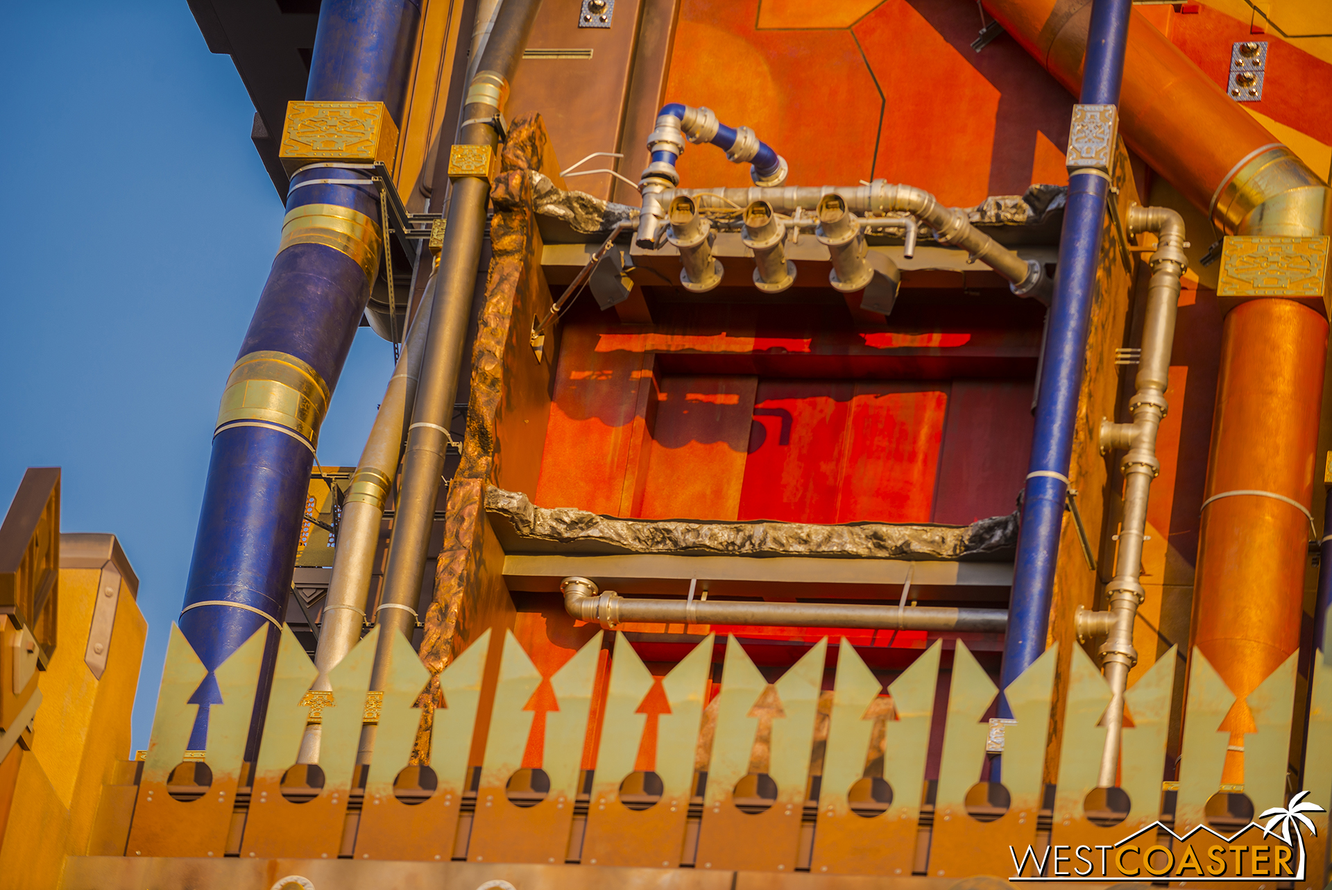 It's all part of a ploy to force people to love the new Guardians of the Galaxy ride.