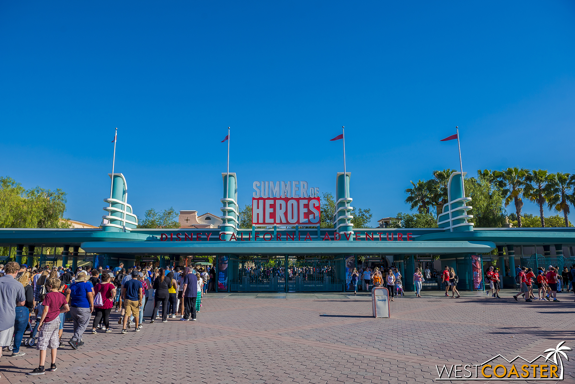 """This summer, Disney California Adventure invites guests to """"hero up"""" and participate in the Summer of Heroes."""