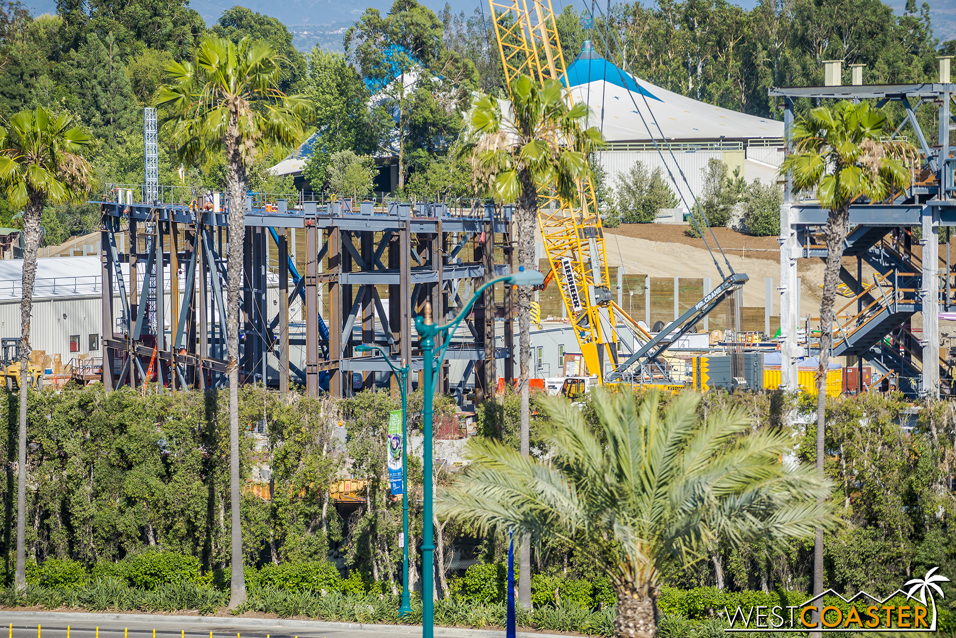 The framing for the Millennium Eagle ride that we saw last week has also expanded.