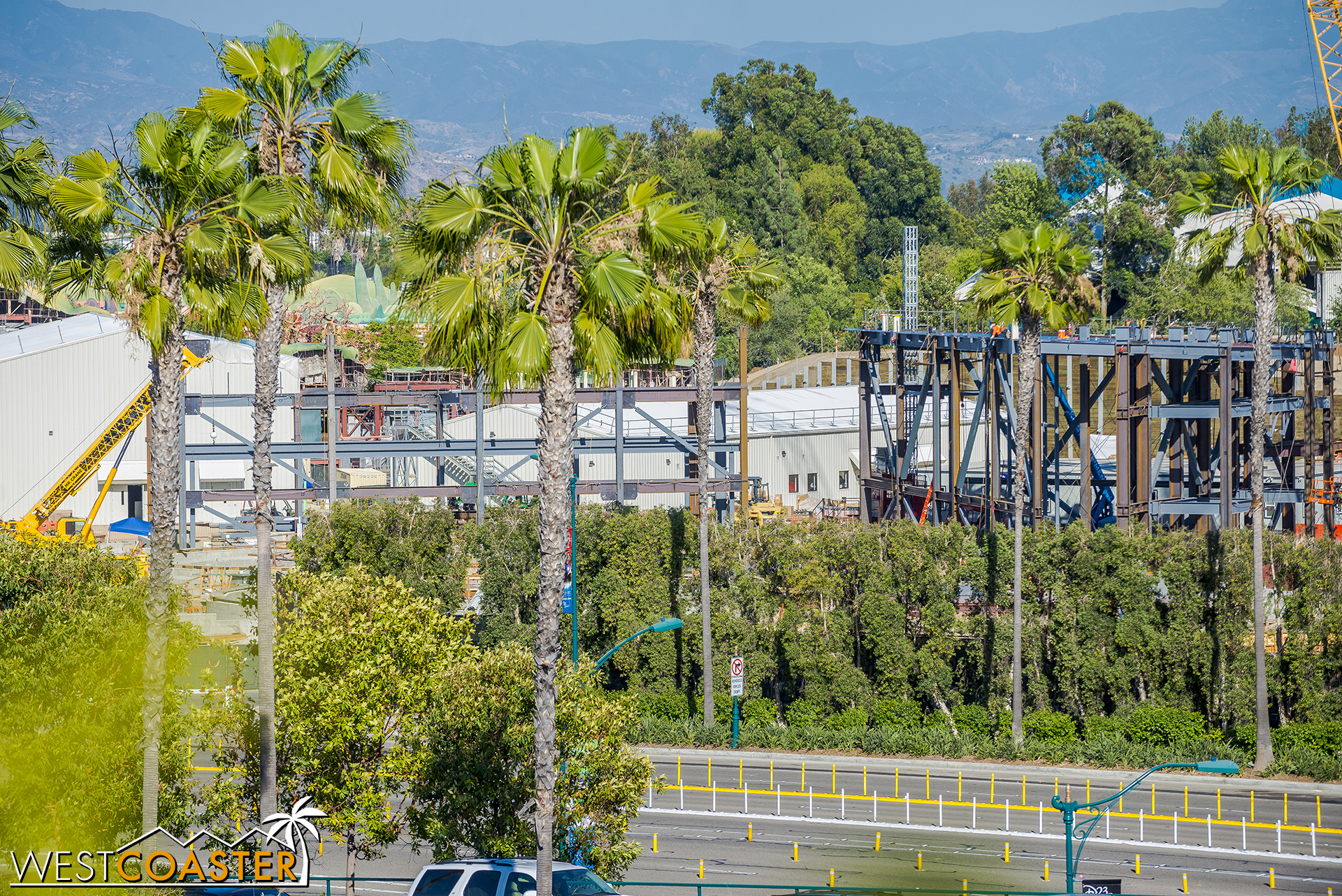 As you can see, a semblance of a building is starting to appear here at for the future Millennium Force ride.