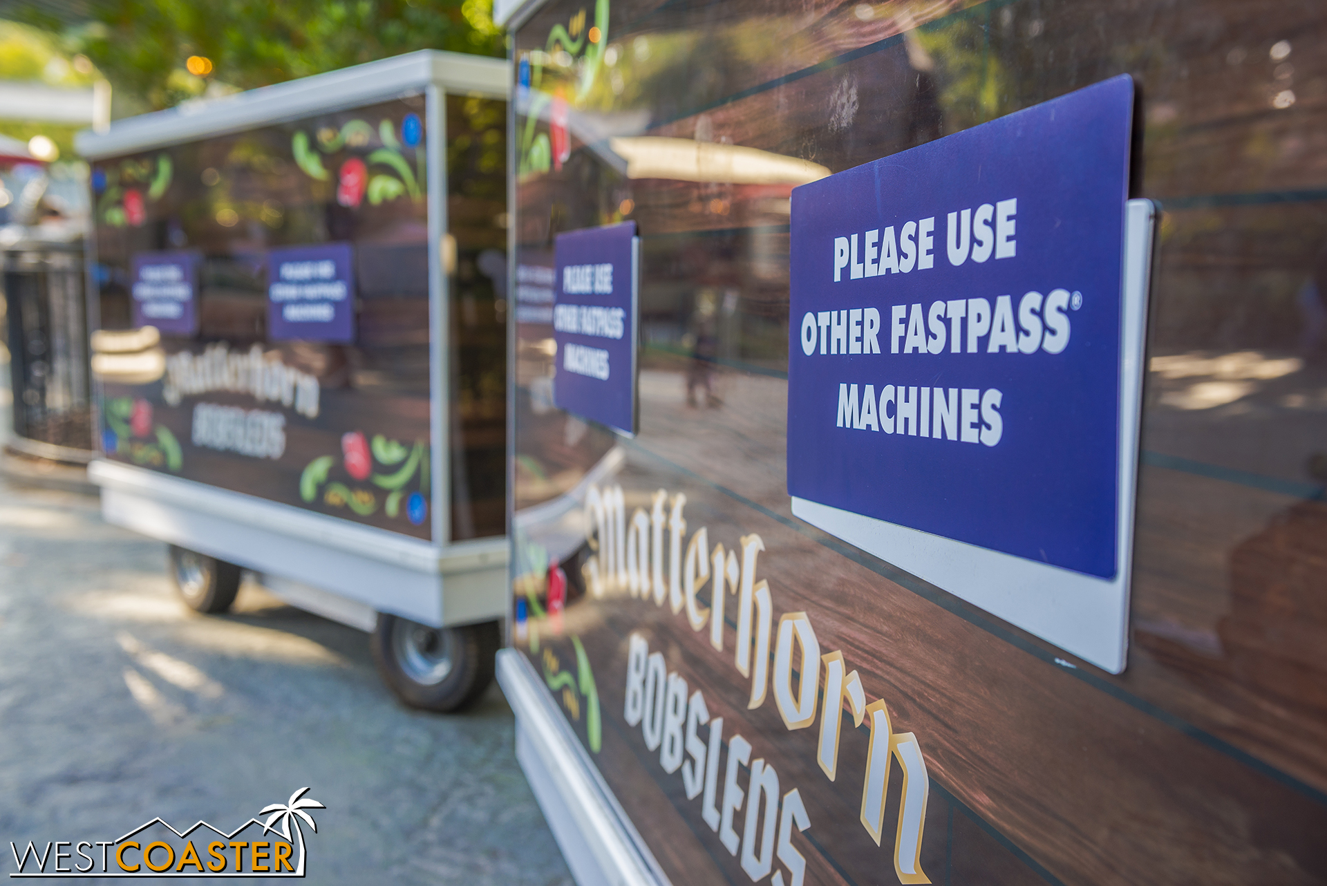 What? Other Fastpass machines??