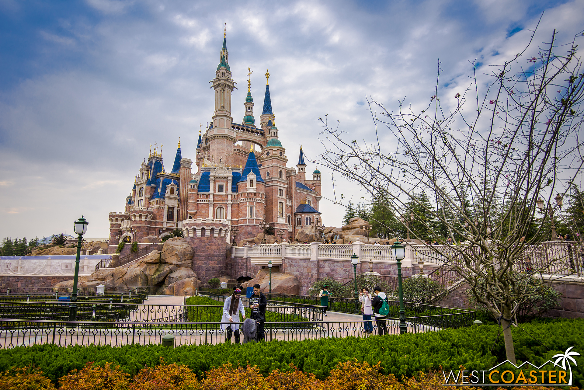 The Enchanted Storybook Castle.