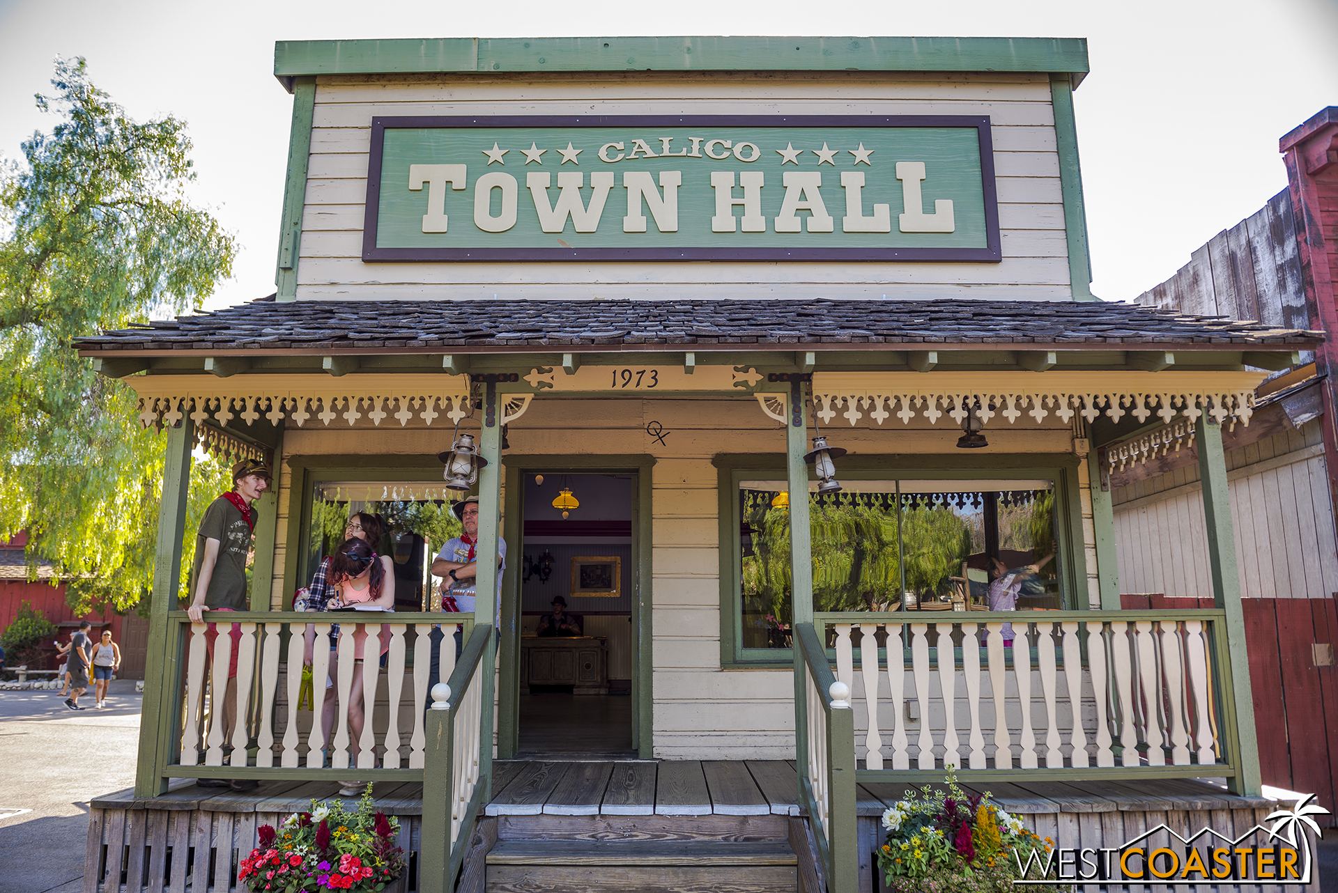Town Hall is once again a focal point in Ghost Town Alive.