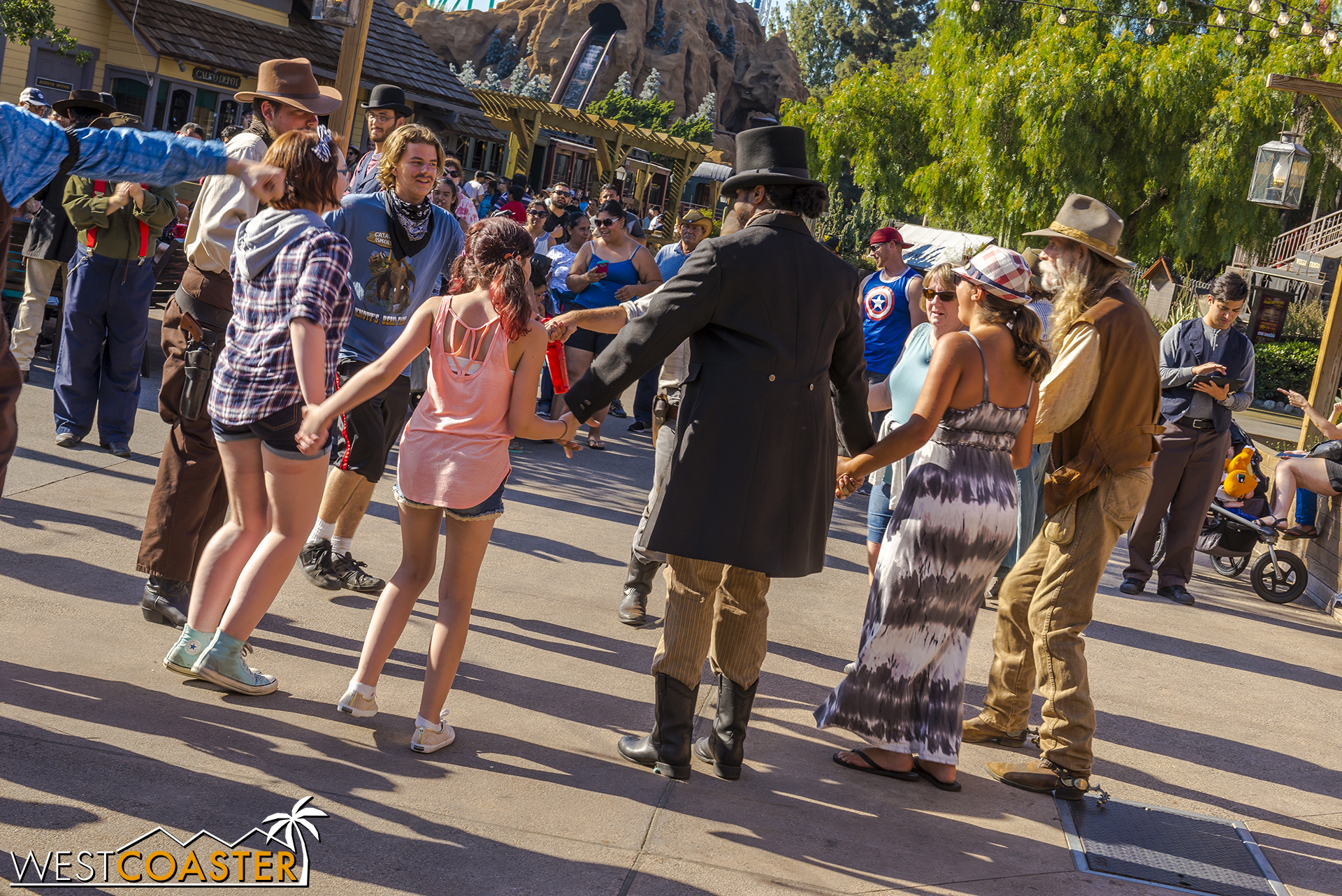The Founder's Day celebration brings Citizens of Calico and guests together in dancing affair.
