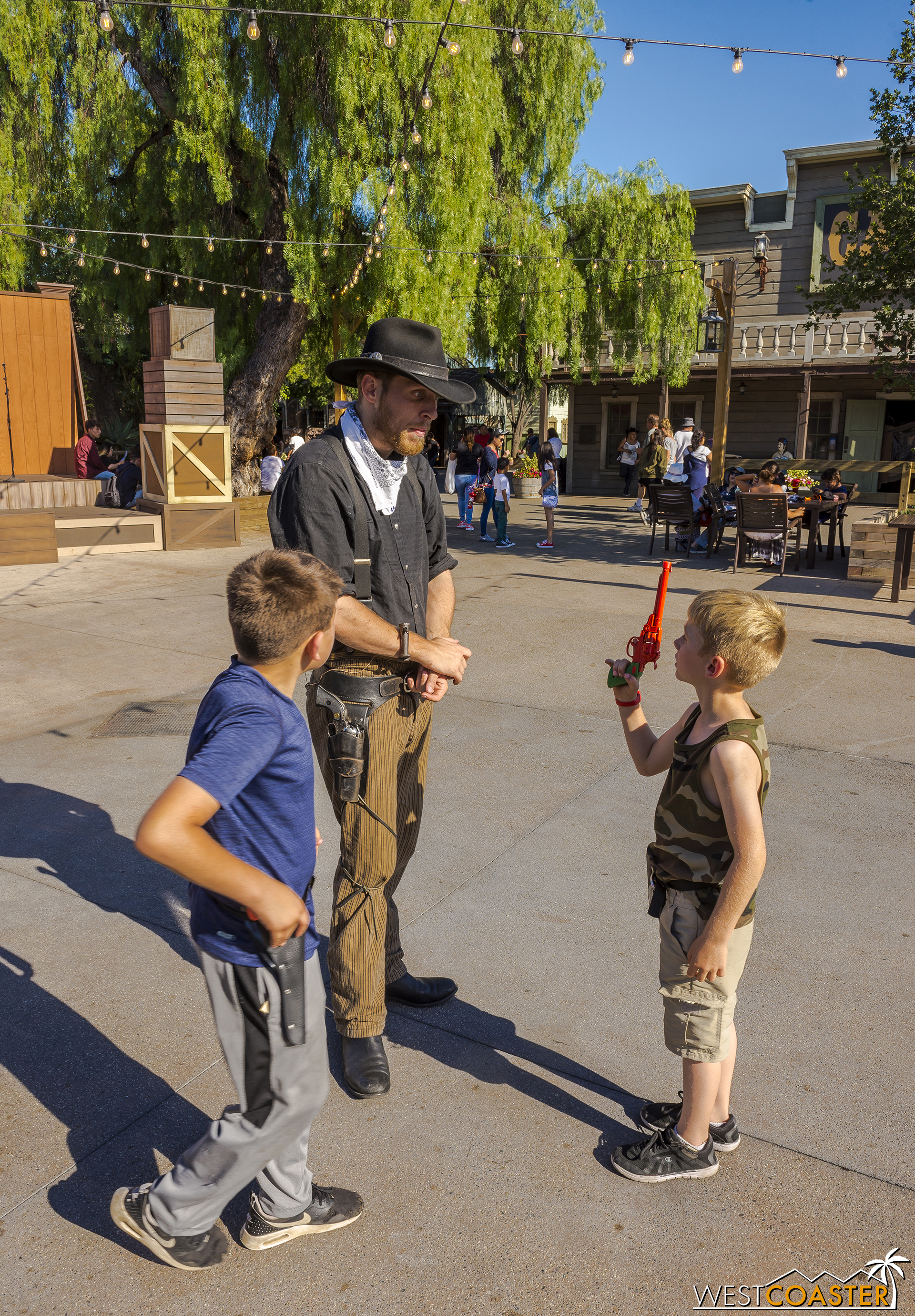 Many people agreed from last year's event and update--Ghost Town Alive! is one of, if not the best thing Knott's has put out in a very long time.