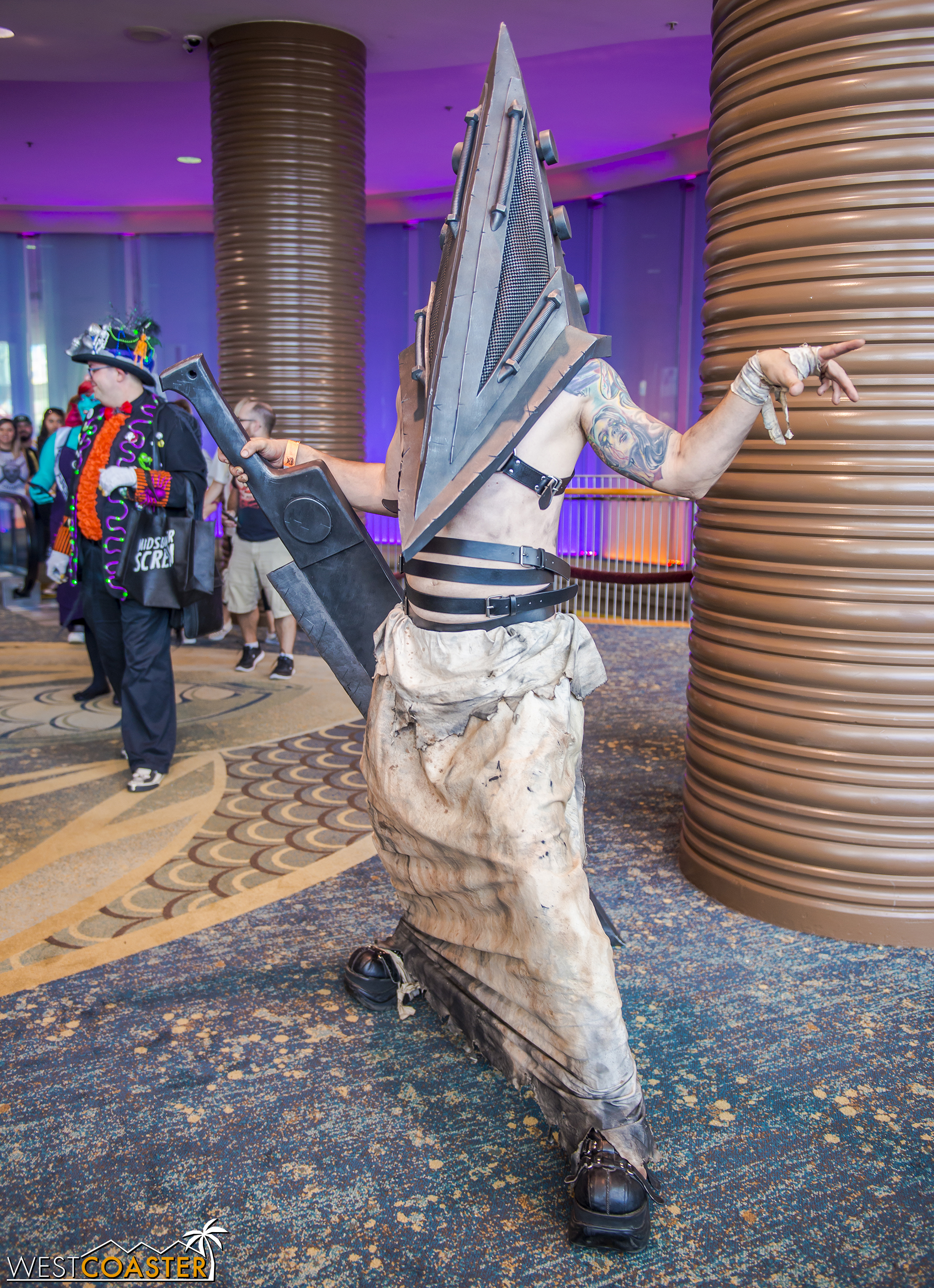 The actual cosplayers (versus original character creations) were out in force too. Anyone fancy a Pyramid Head?