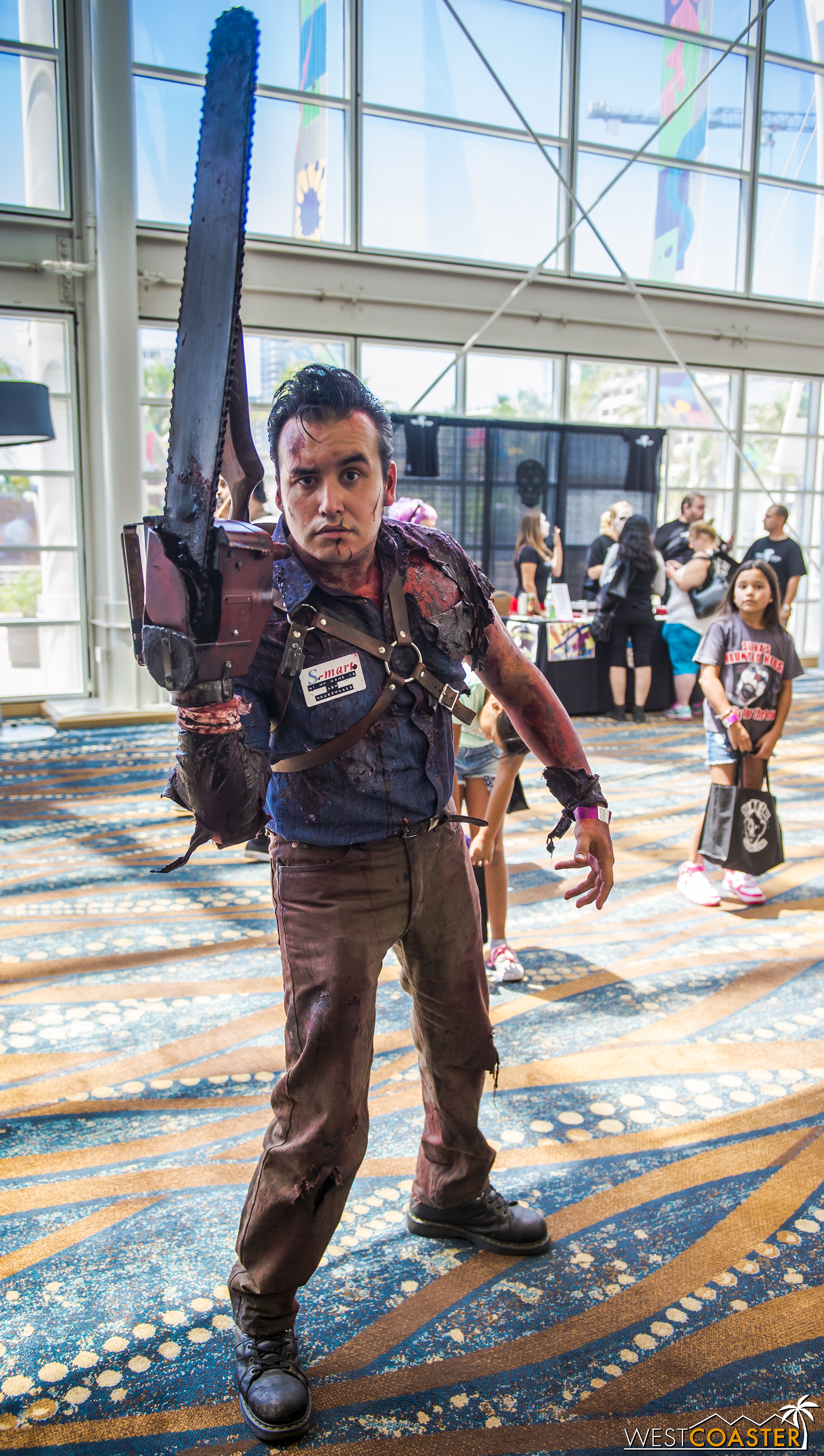How about this detailed Ash from  Evil Dead ?