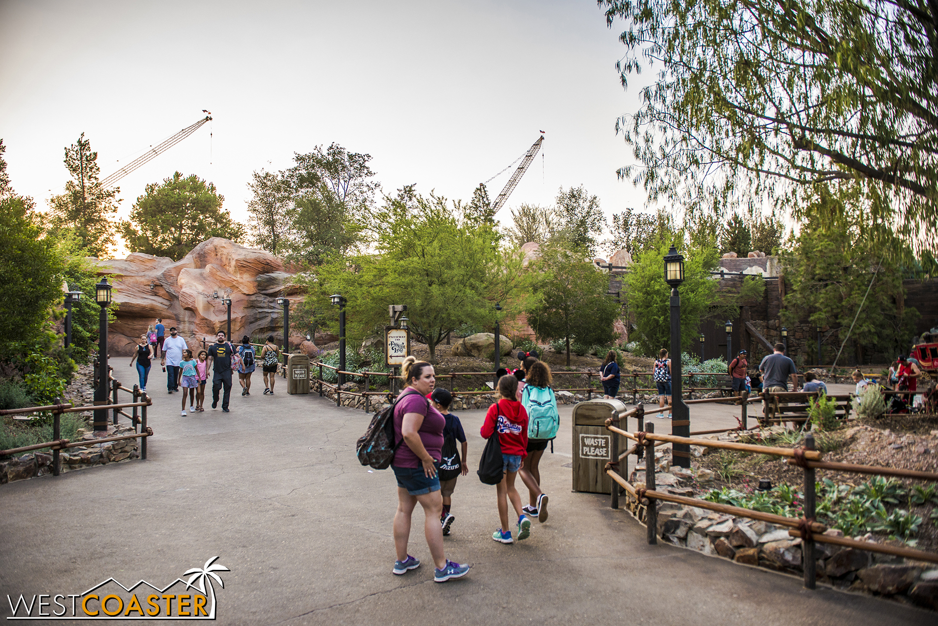 Lets head over to the former Big Thunder Ranch trail.