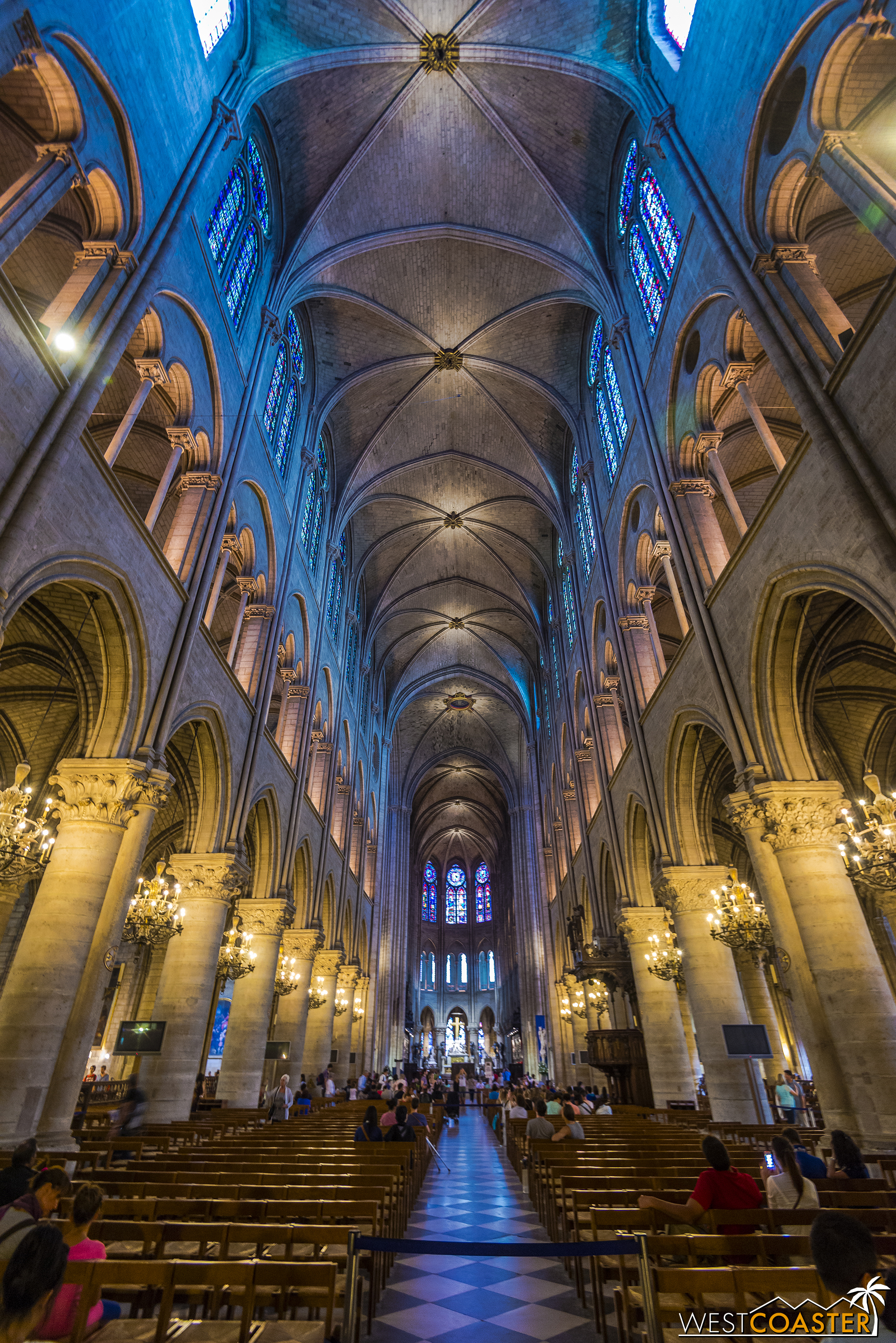 The towering, vaulted interior is incredibly iconic and photogenic.