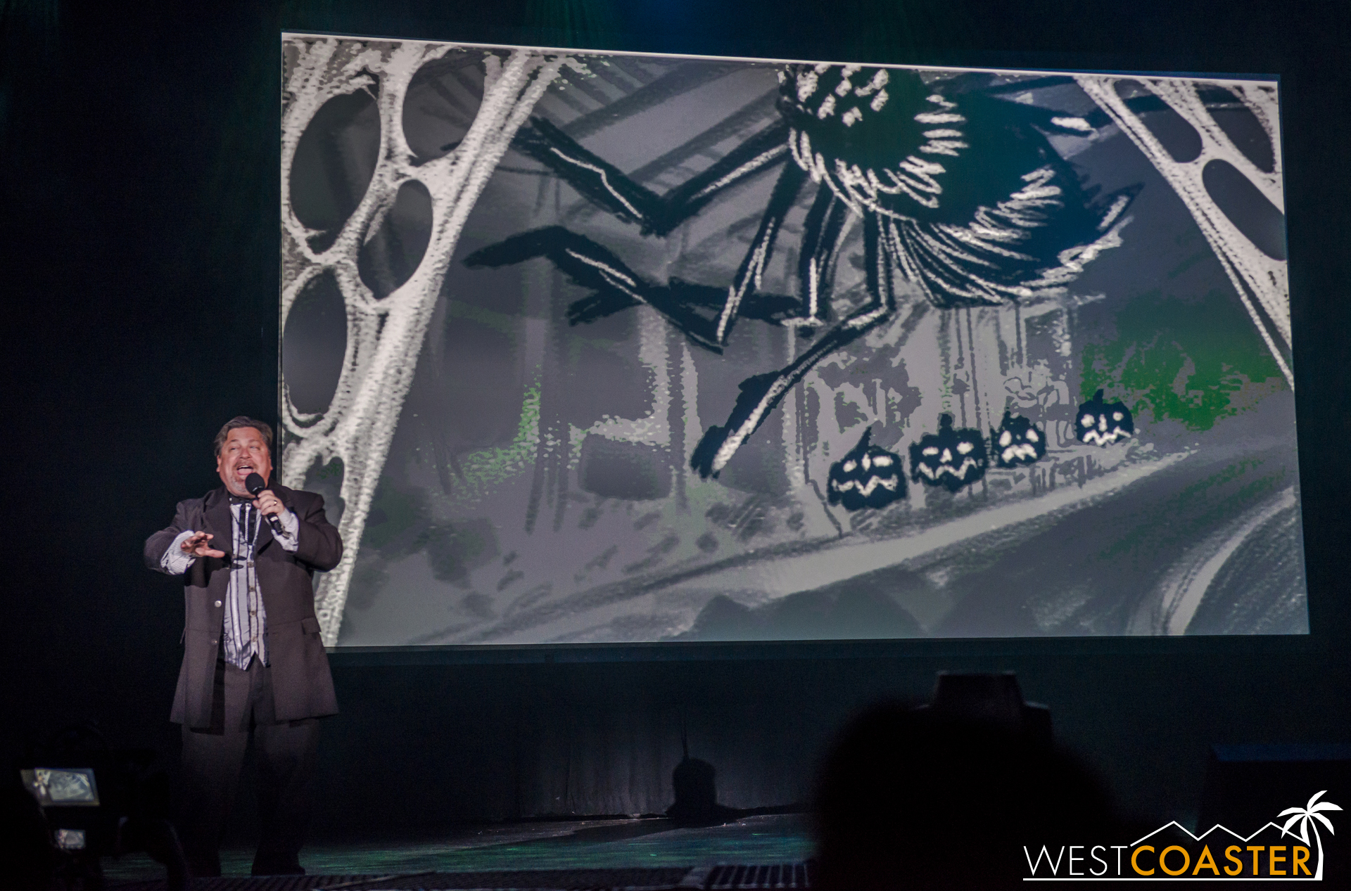 This means no live scare actors to startle riders, which is probably better anyway, since safety concerns limit how many monsters could be stationed throughout the ride and what they could do.  UPDATE: Per HorrorBuzz, Jon Cooke confirmed live actors at night but not during the day.