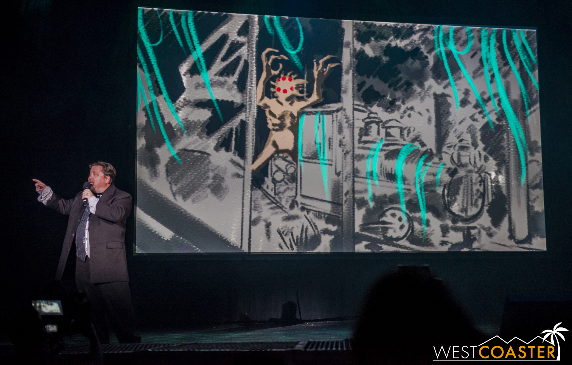 The concept art presented was pretty adorable.
