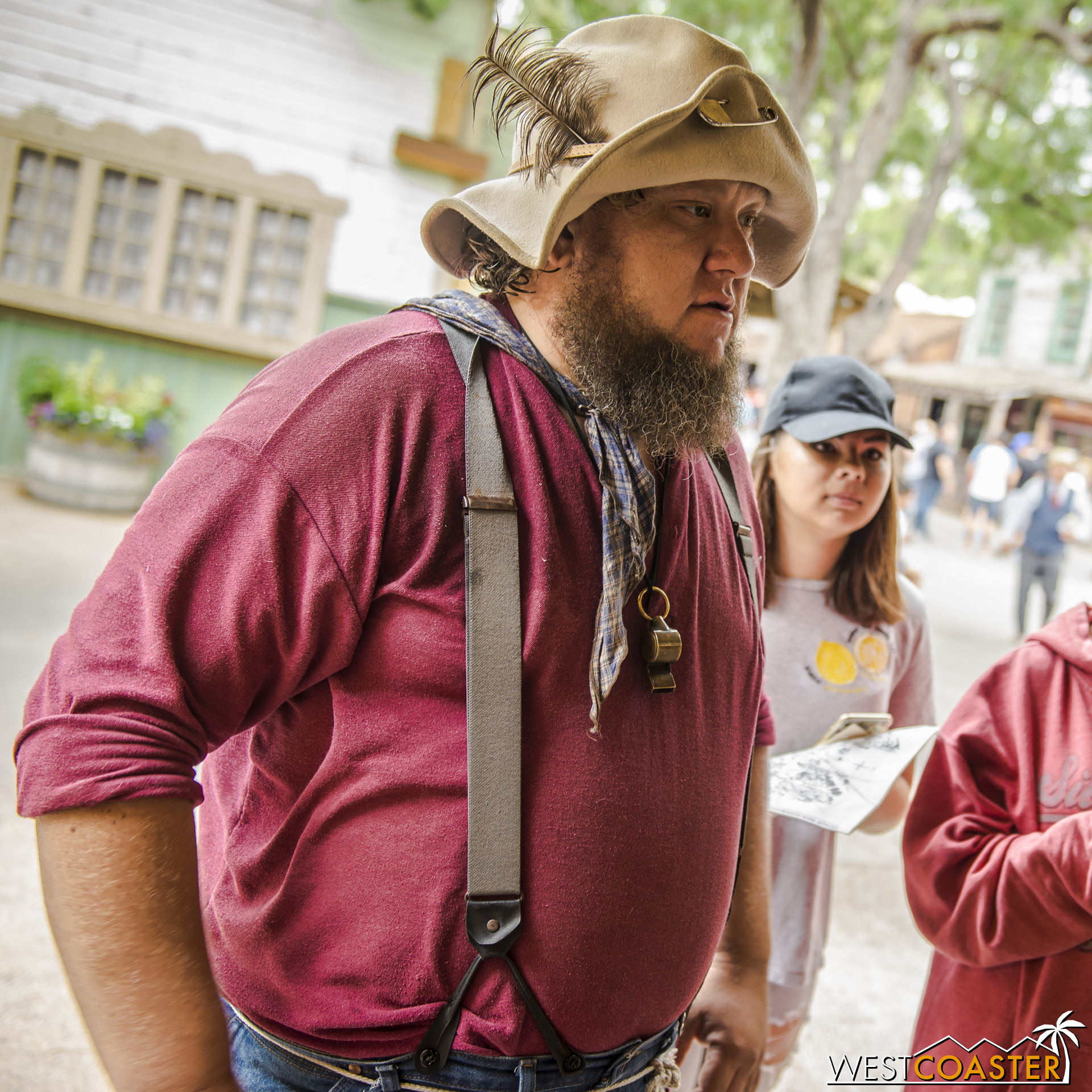 Flint the prospector was getting his gold stolen all day.