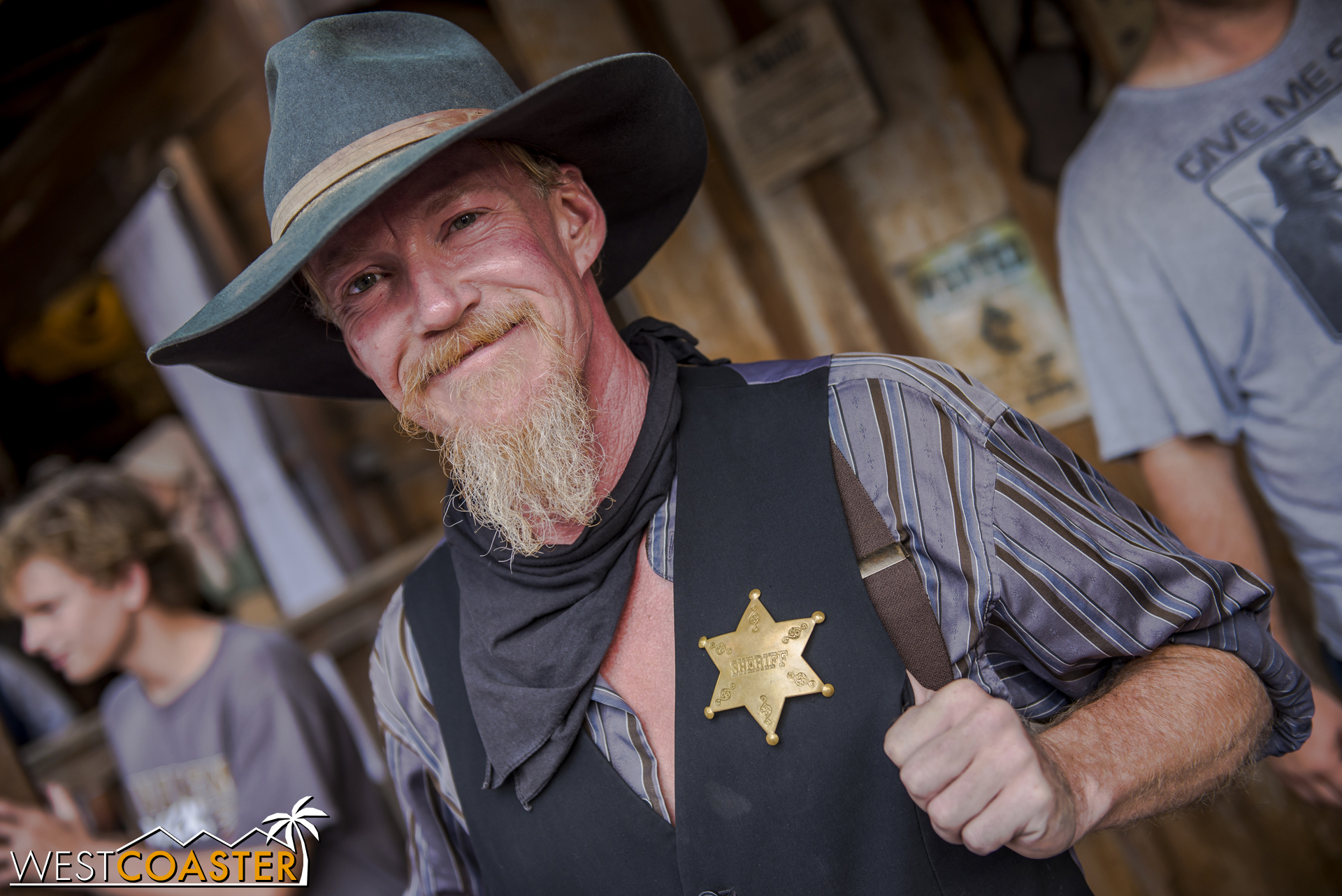 Clay Mayfield makes a fine sheriff (spoilers), but more on that later.