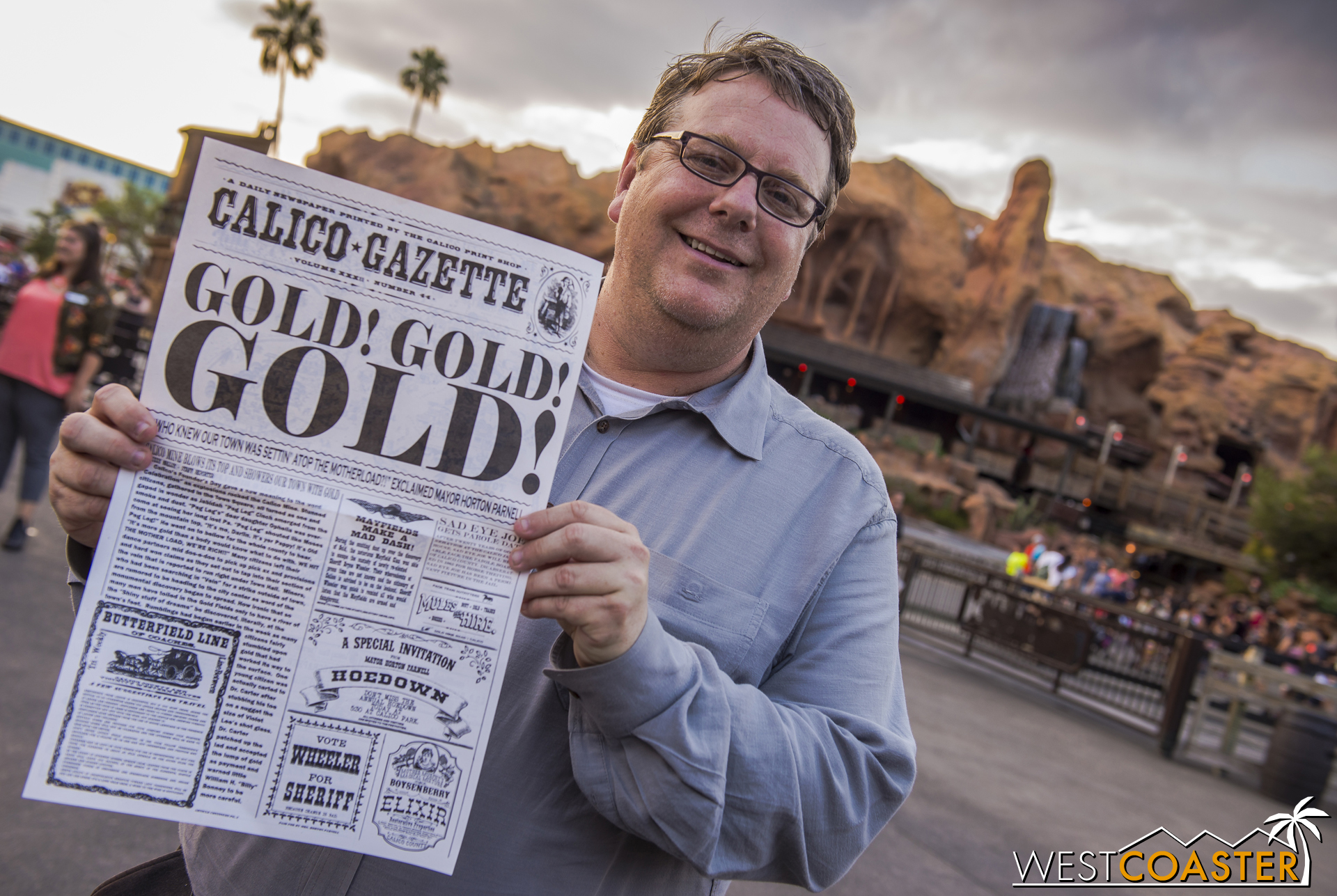 Knott's Vice President of Entertainment, Ken Parks, and everyone involved with Ghost Town Alive! have certainly struck gold with this amazing event. Thank you to everyone, and looking forward to what next year brings!