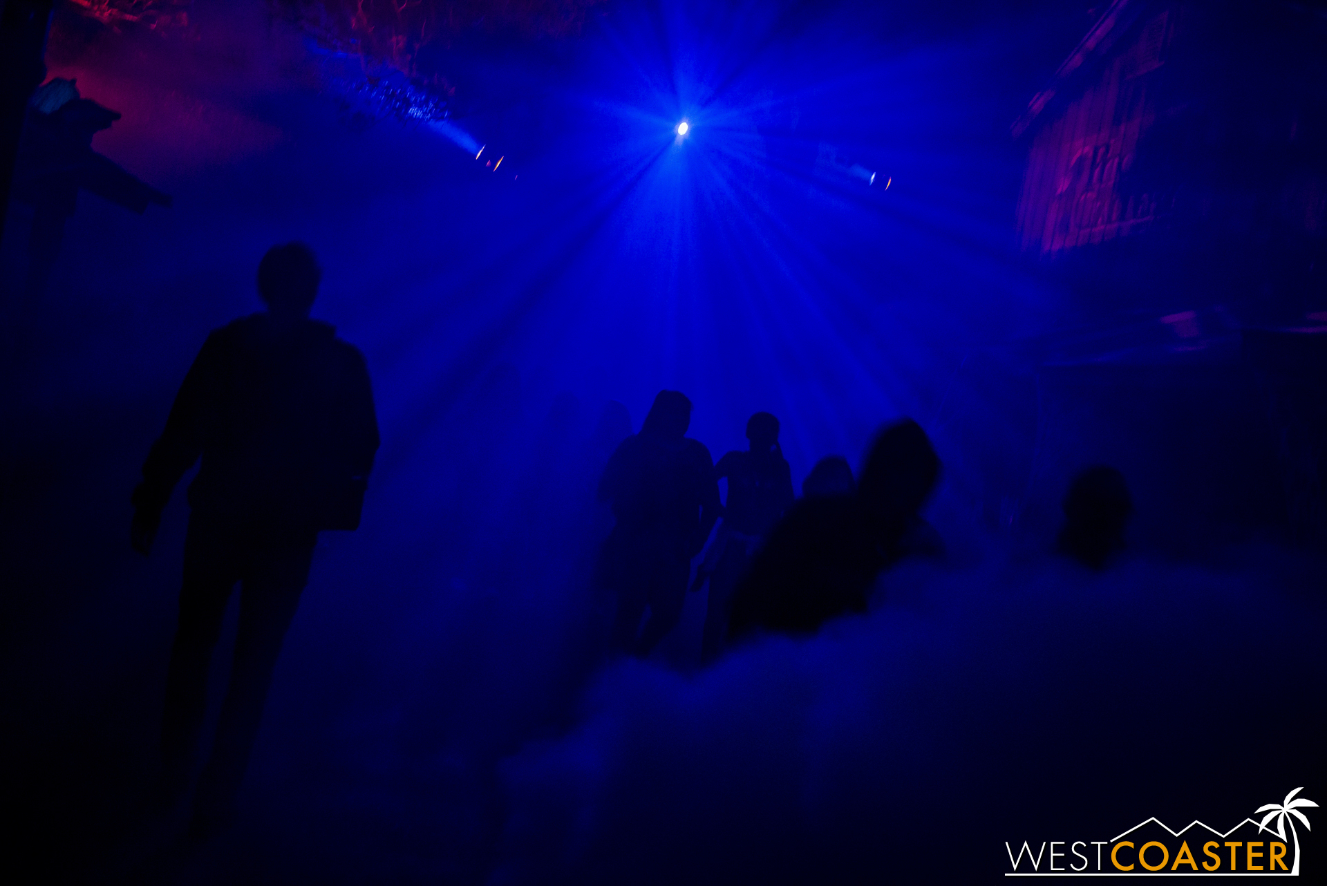 Fog Alley never gets old. It's always filled with three things: fog, sliders, and screams!