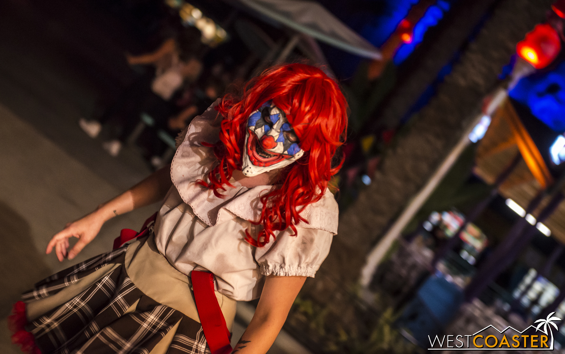 If psychotic clowns are your thing, Carnevil is the place for you!