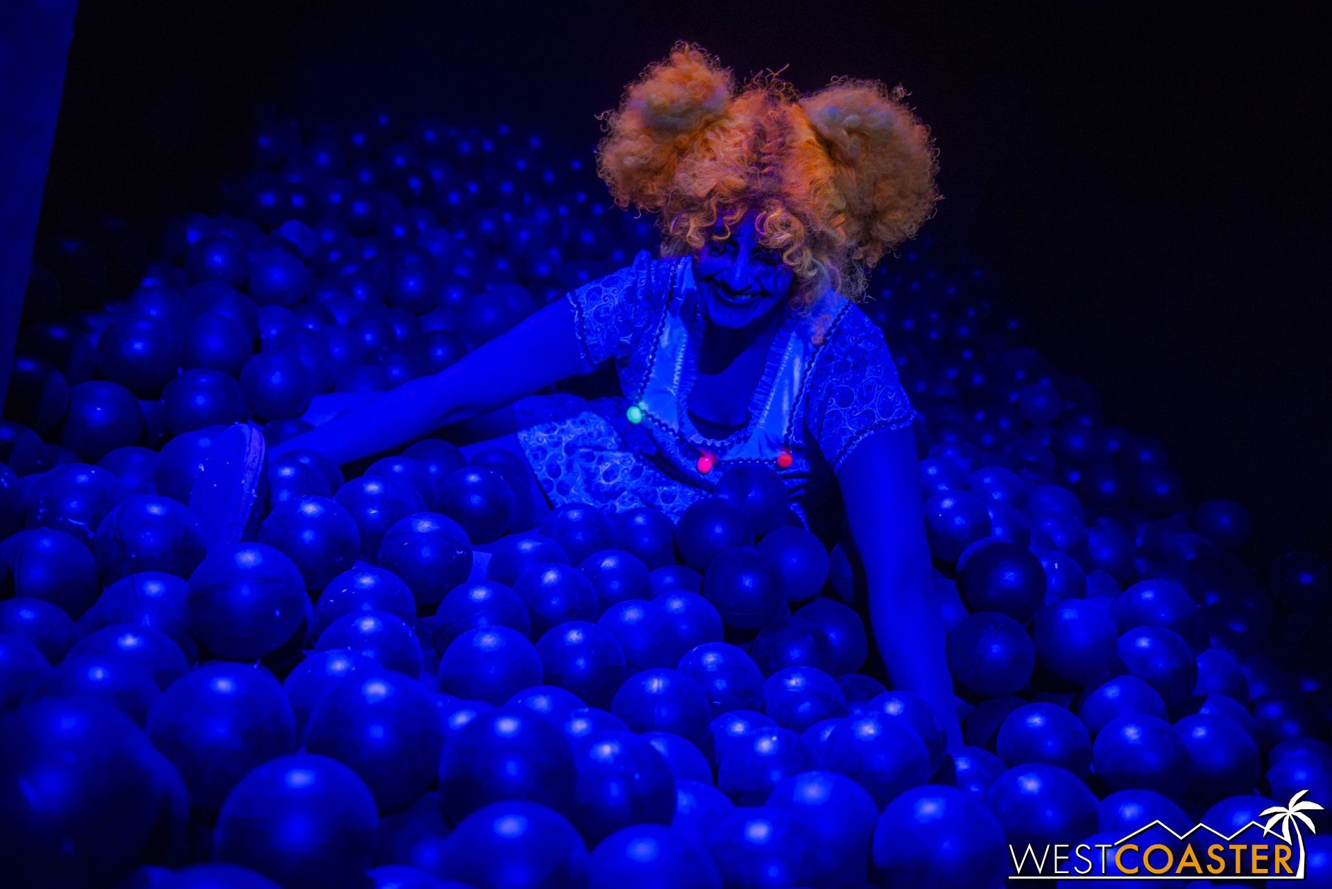 The ball pit room is back at Circus this year, but you have to find it!