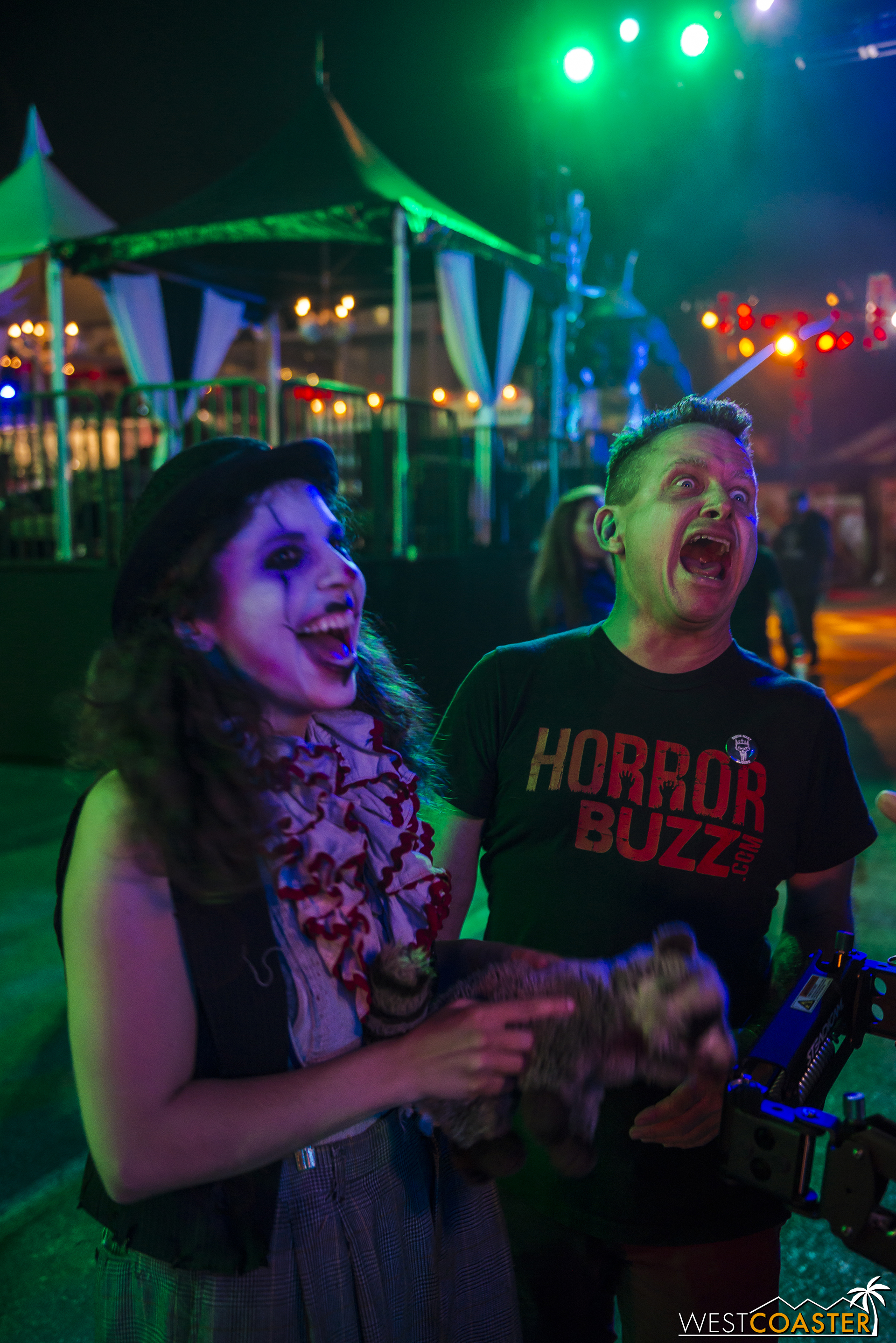 Norm from Horror Buzz agrees, Dark Harbor is a scream!