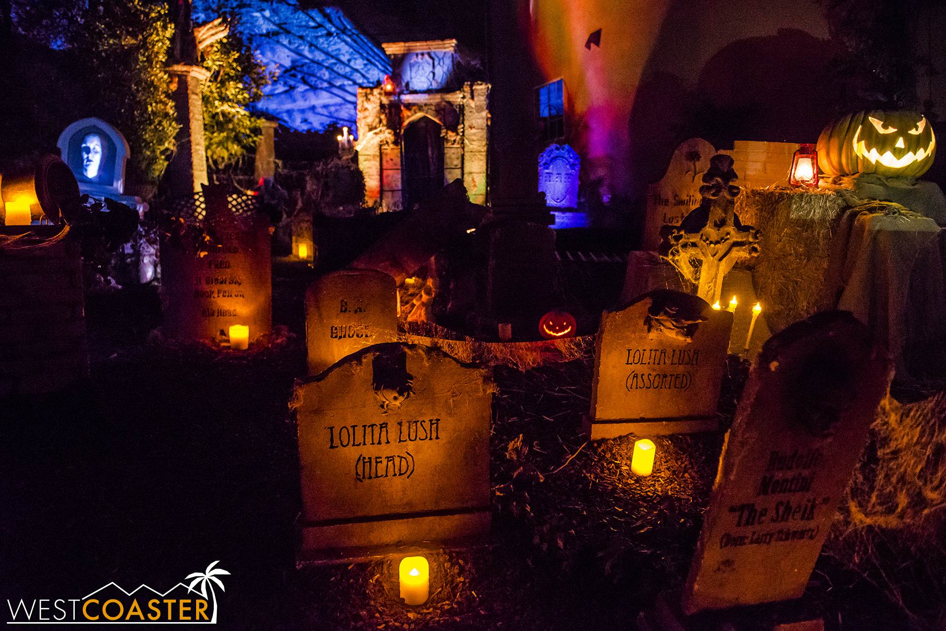 House at Haunted Hill is a dazzling yard display and show like no other!