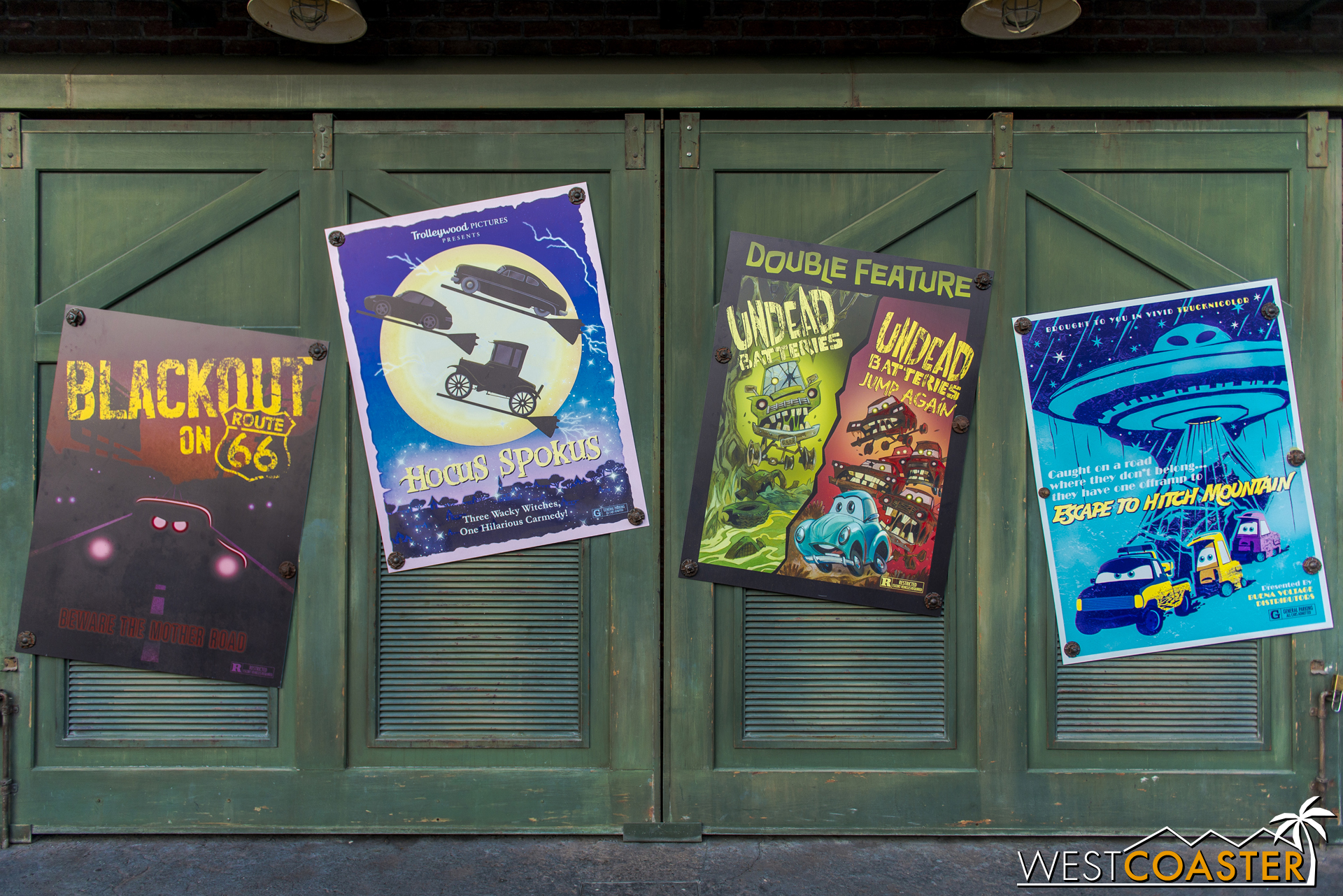 """Much like Cars Land's Christmas overlay, """"Haul-O-Ween"""" featured a large share of automotive puns."""