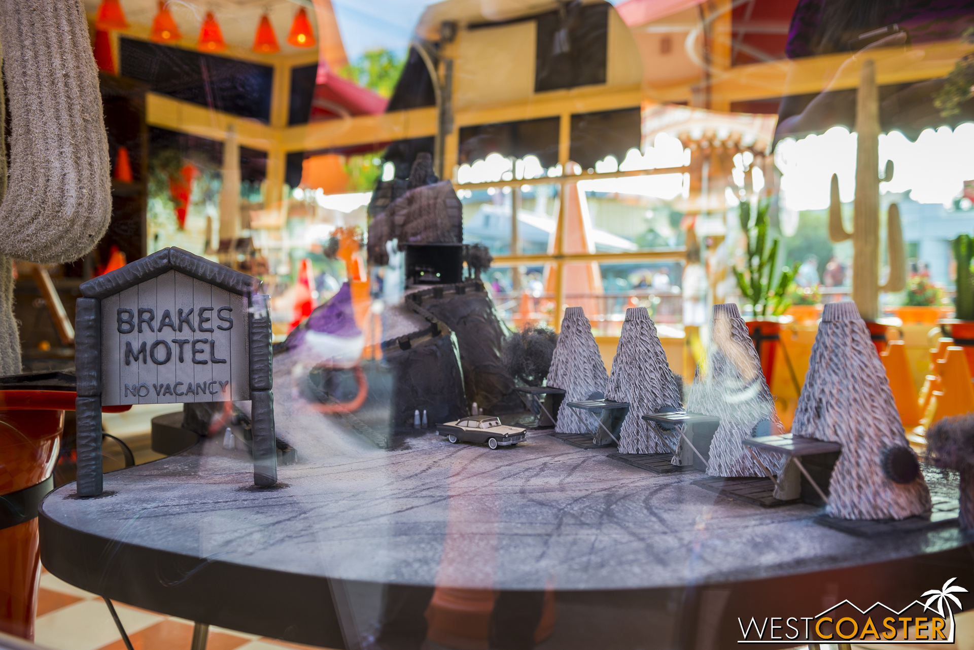 Around back by the Cozy Cone stalls, a special Halloween display could be found inside the Cozy Cone main office.