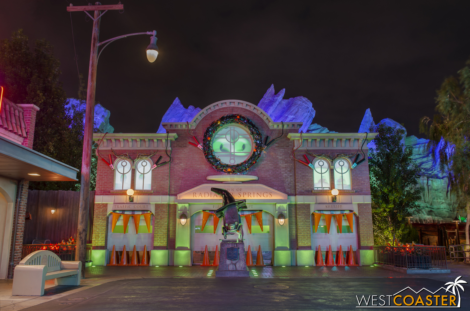 """After the refrains of """"Sha-boo"""" around dusk, the nighttime lighting effects would include projections and other special effects."""
