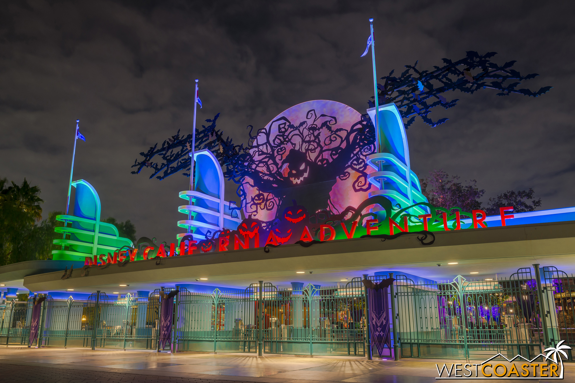 It will be another ten months before the harvest moon rises again--with Oogie Boogie along with it!